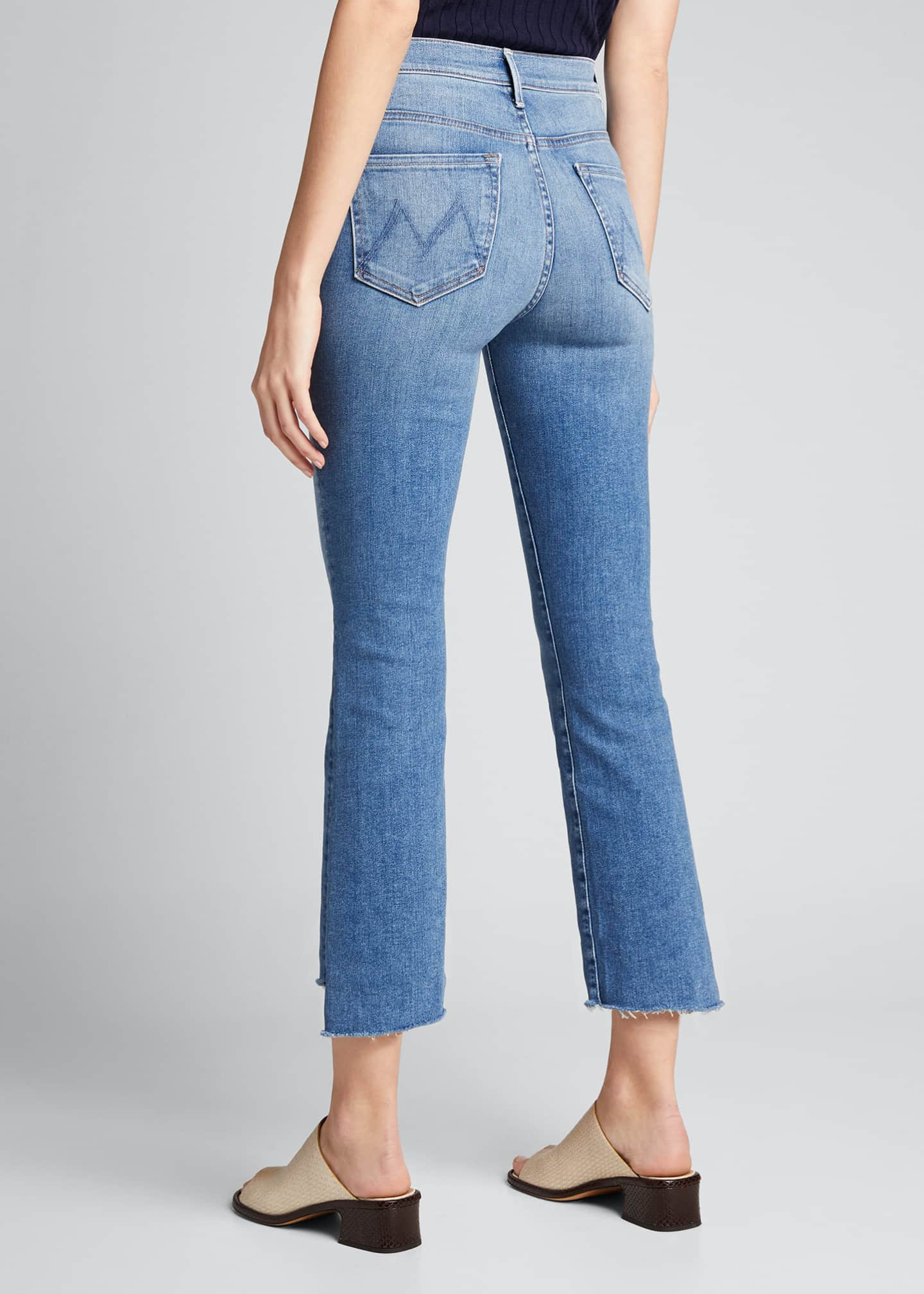 Image 2 of 5: The Insider Crop Step Fray Jeans