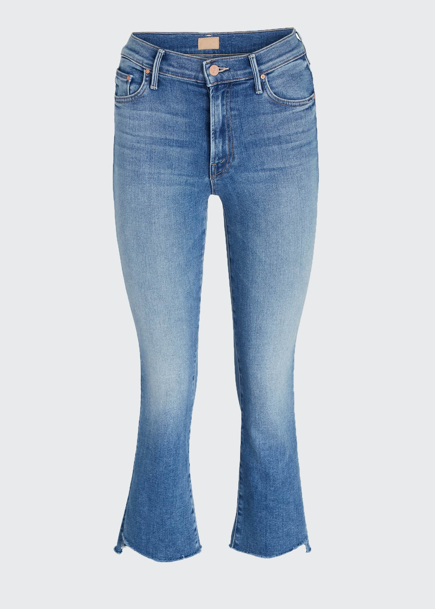 Image 5 of 5: The Insider Crop Step Fray Jeans