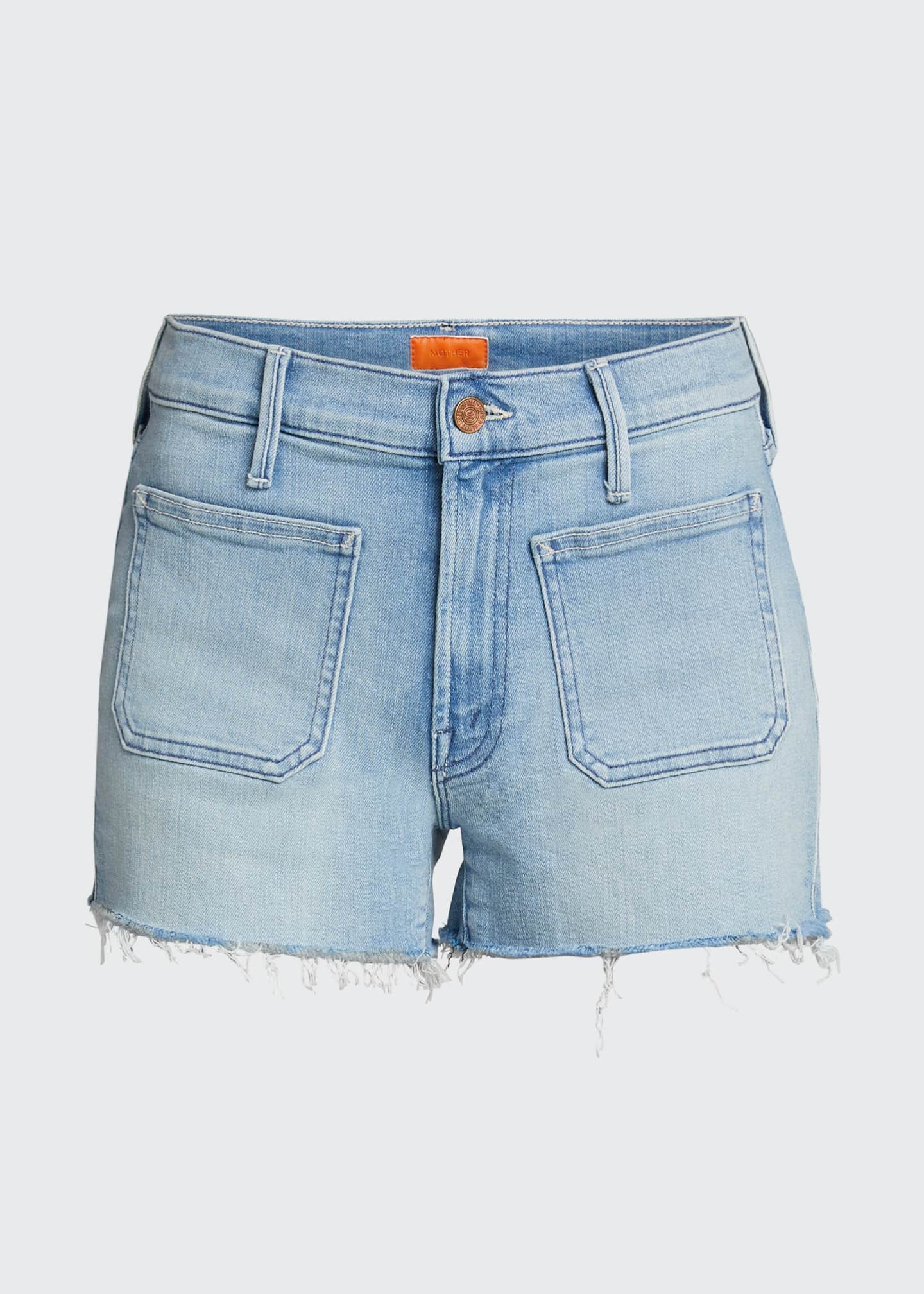 Image 5 of 5: The Patchie Denim Shorts