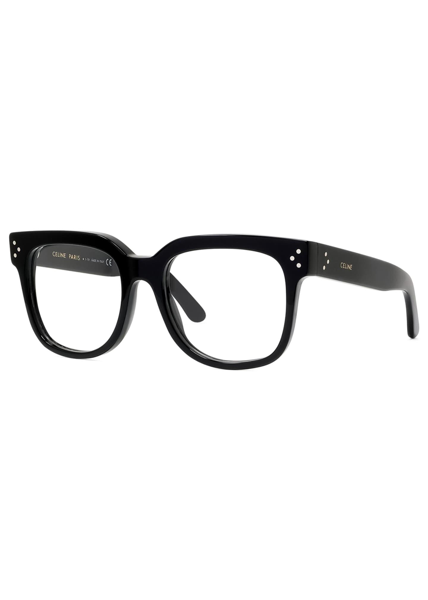 Celine Square Acetate Optical Frames