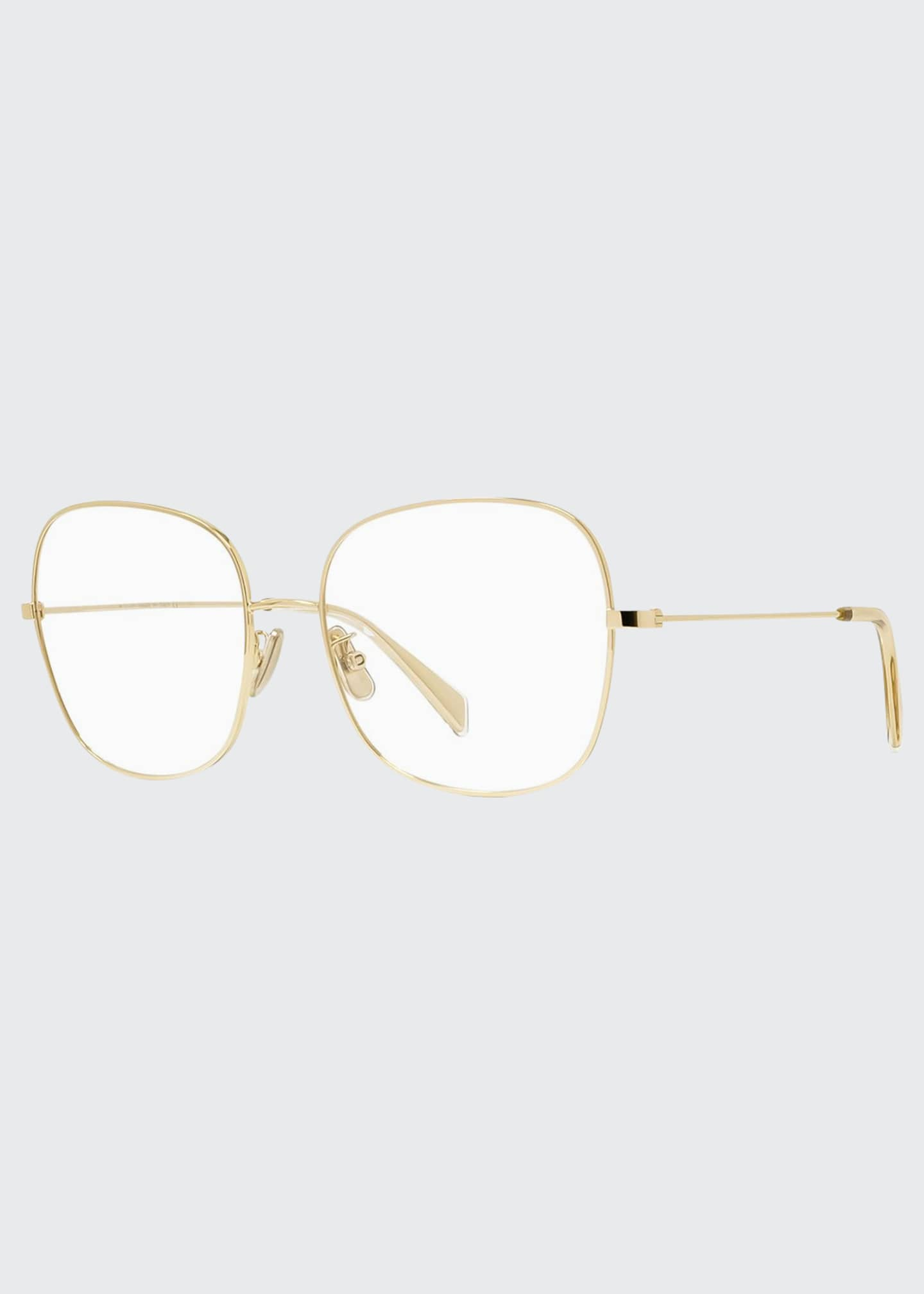 Celine Square Metal Optical Frames