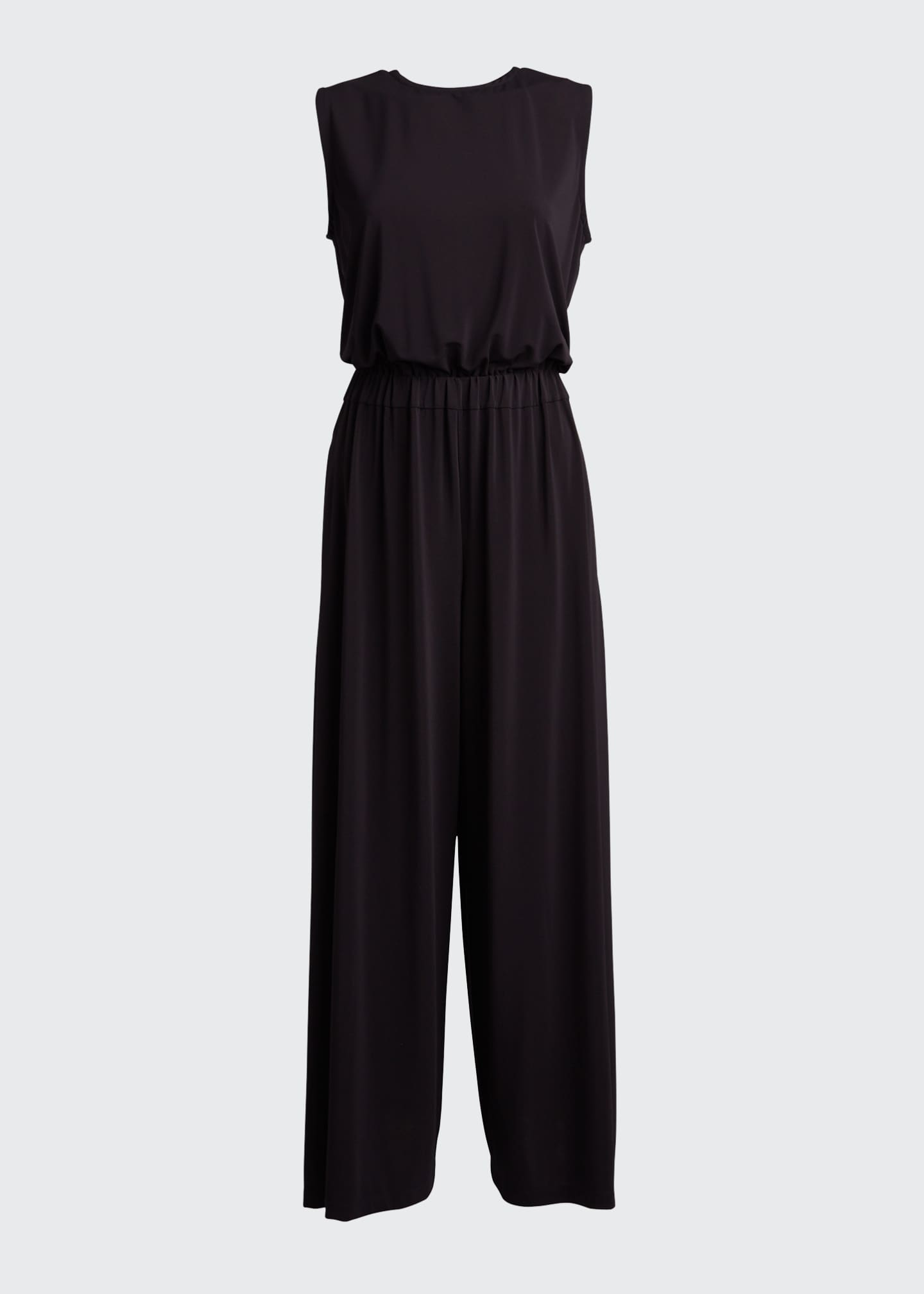 Image 5 of 5: Draped Jersey Jumpsuit