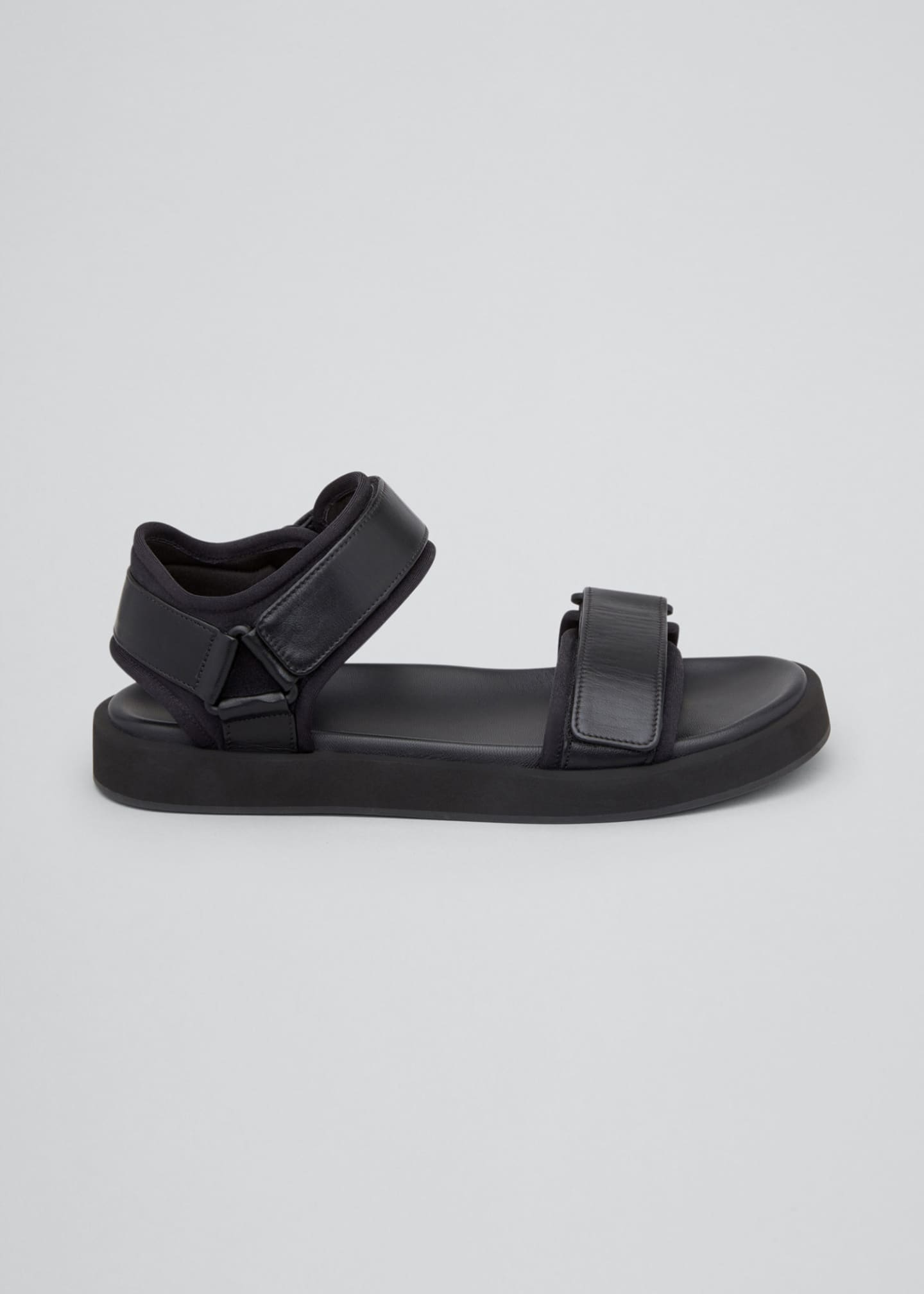 Image 1 of 4: Hook-and-Loop Sandals