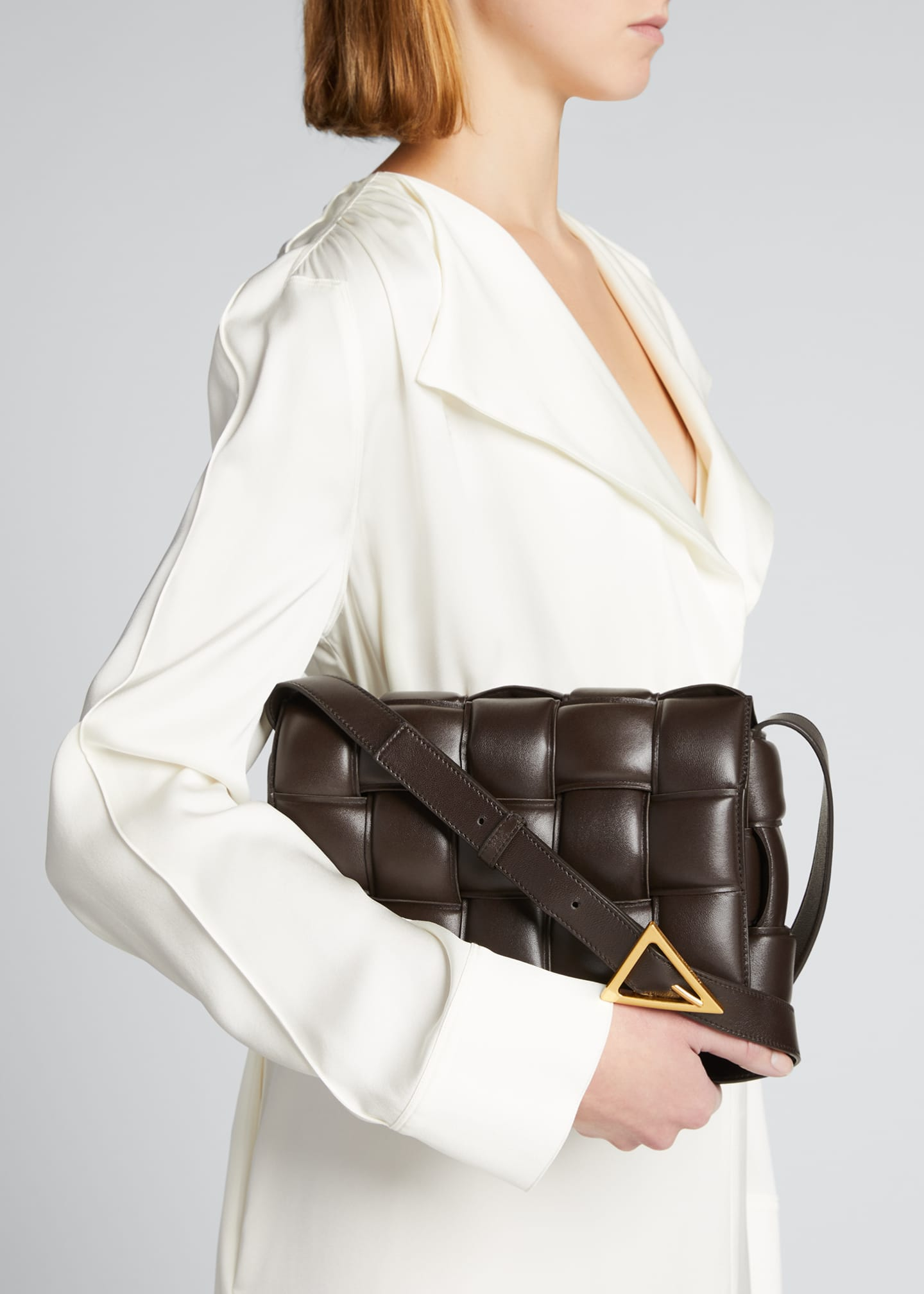 Image 2 of 5: Padded Cassette Crossbody Bag