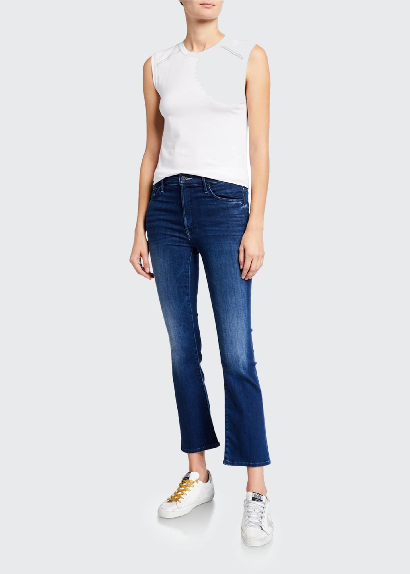Image 1 of 3: The Insider Ankle Straight-Leg Jeans