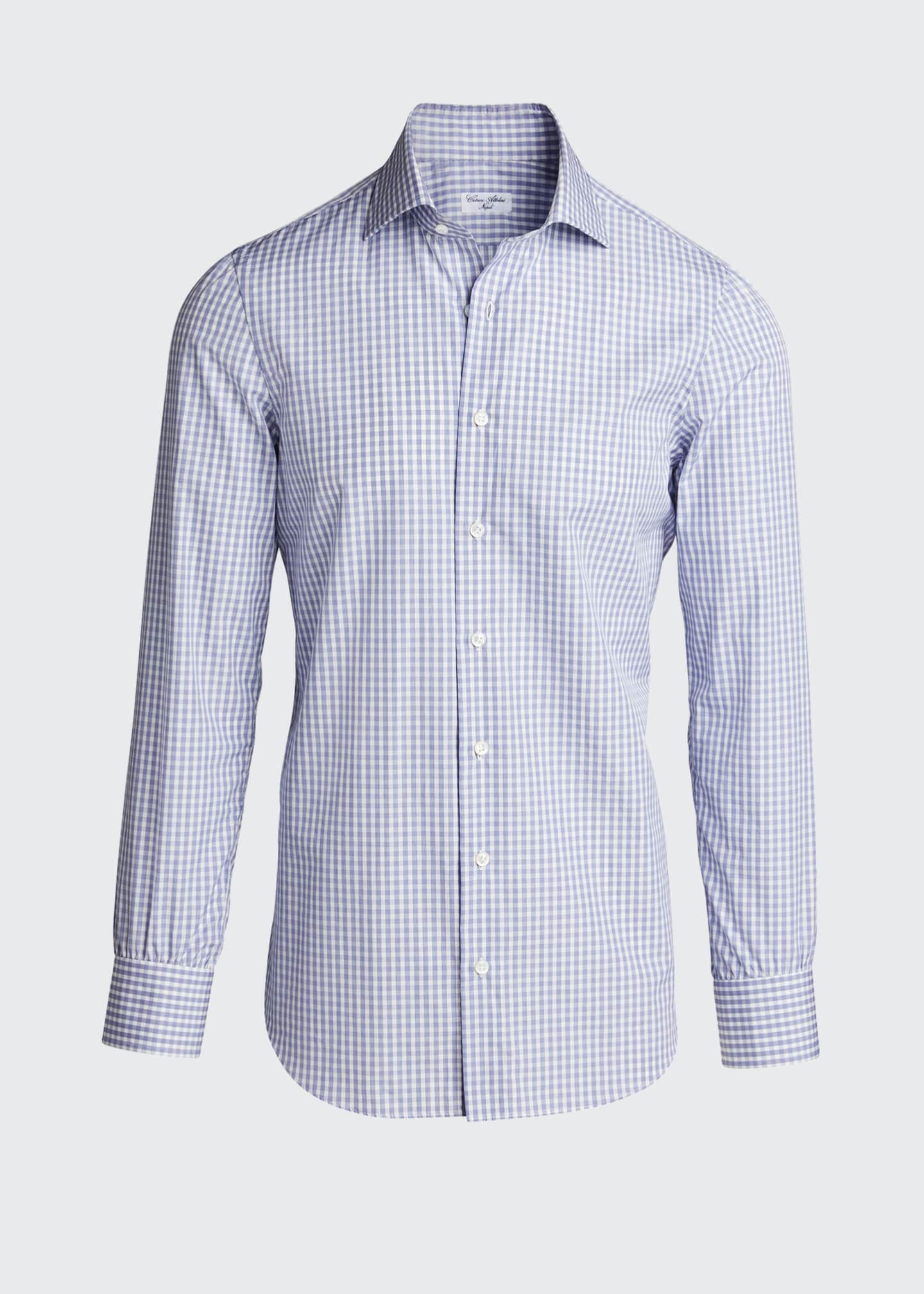 Image 5 of 5: Men's Check Cotton Sport Shirt