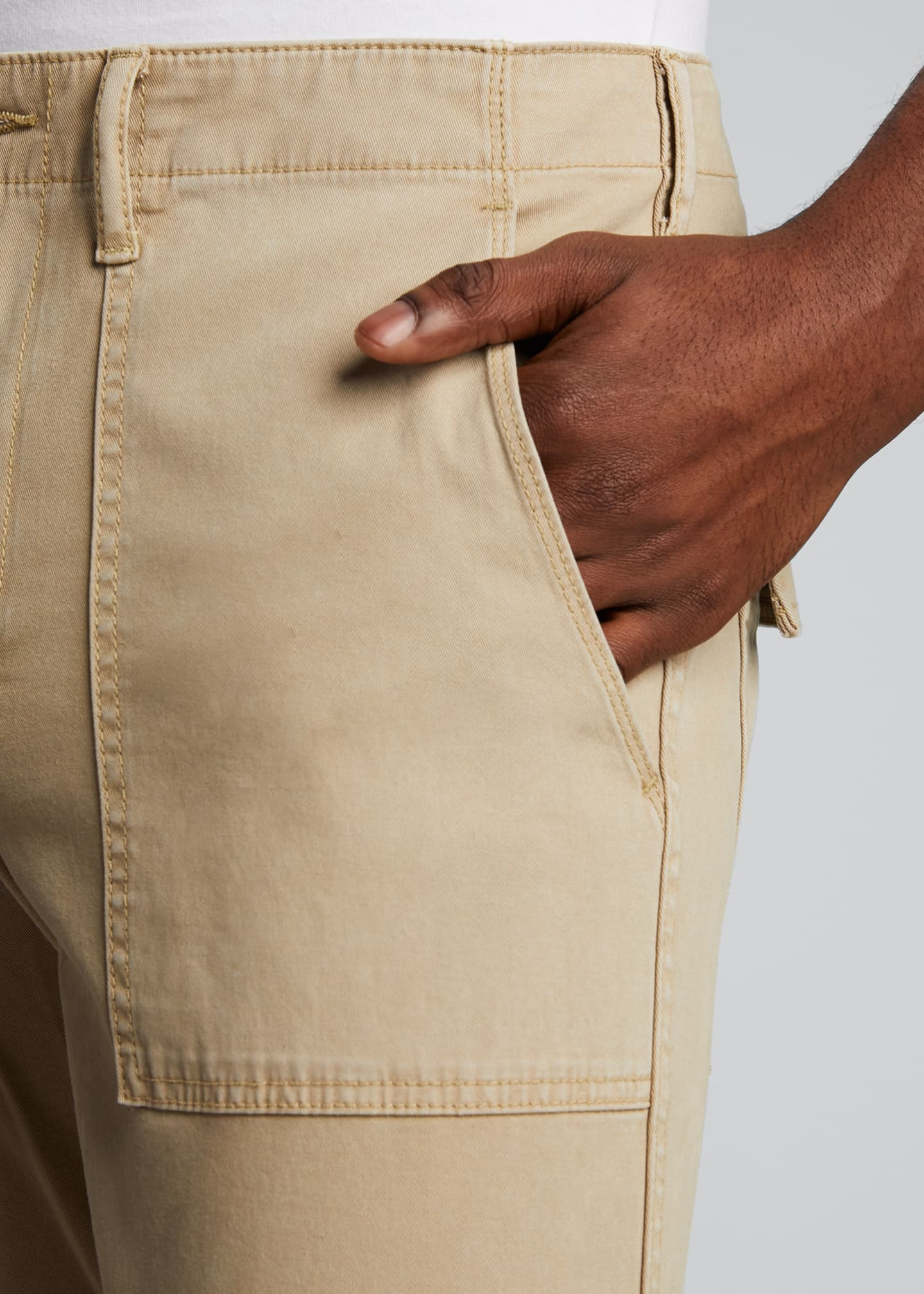 Image 4 of 5: Men's Utility Twill Pants