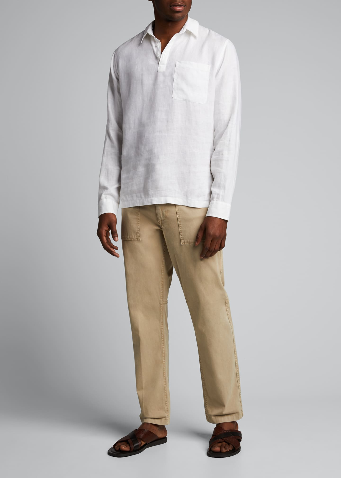 Image 1 of 5: Men's Utility Twill Pants