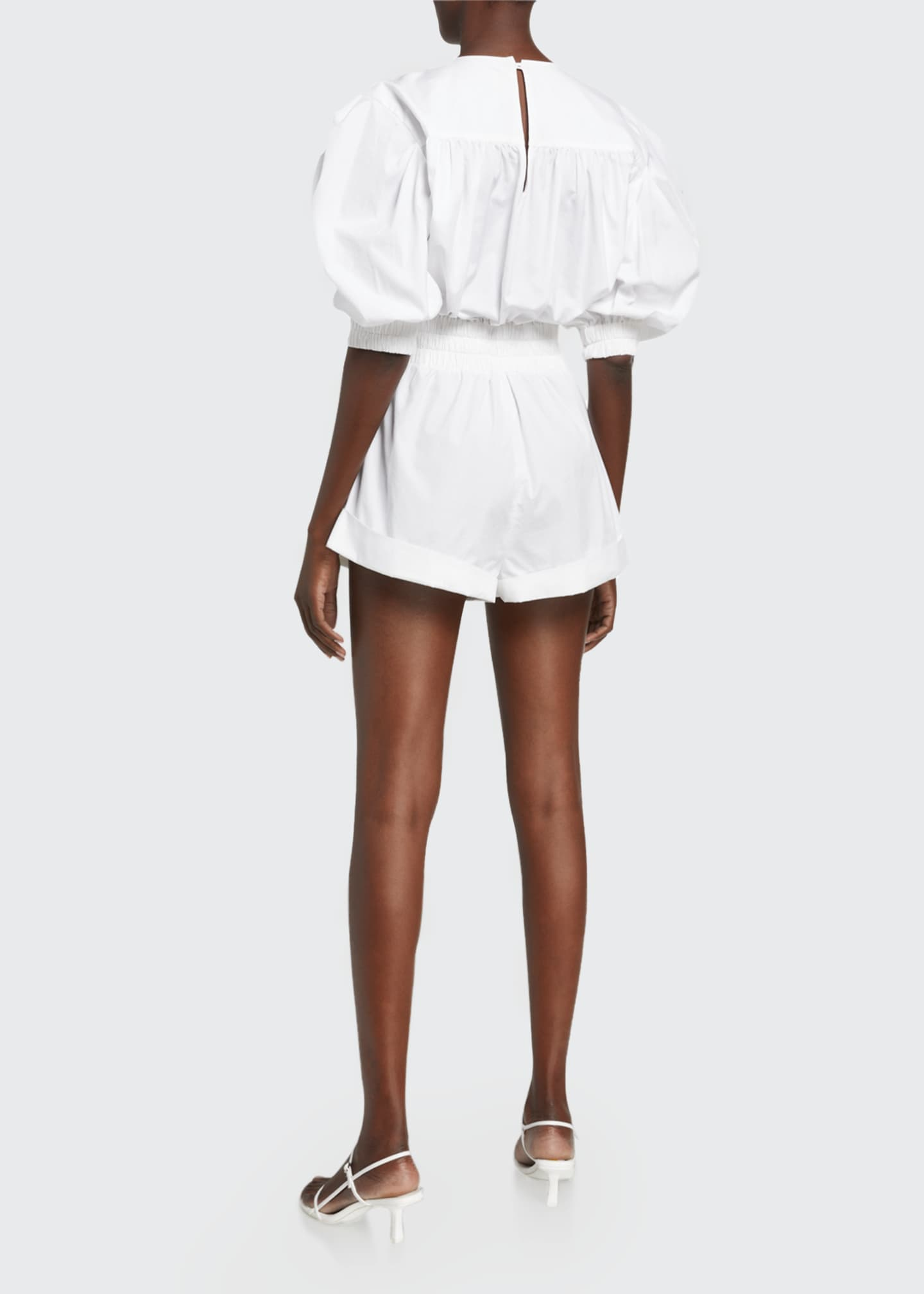 Image 2 of 2: Lineasa Short-Sleeve Romper