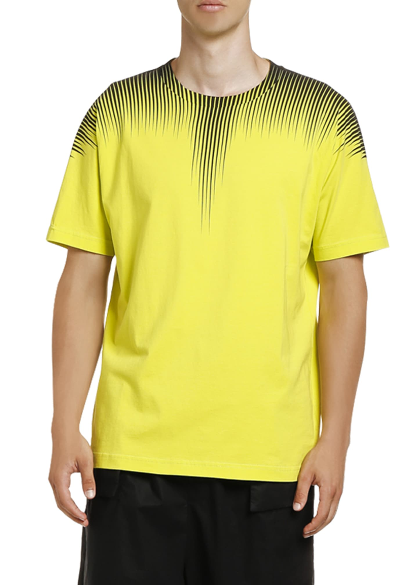 Image 1 of 2: Men's Fluorescent Wings T-Shirt