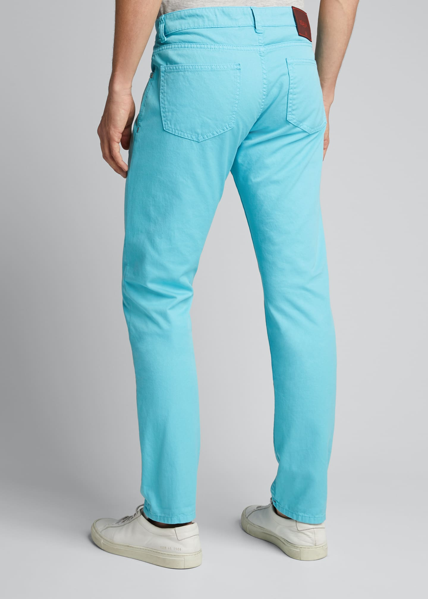 Image 2 of 5: Men's 5-Pocket Stretch-Twill Pants