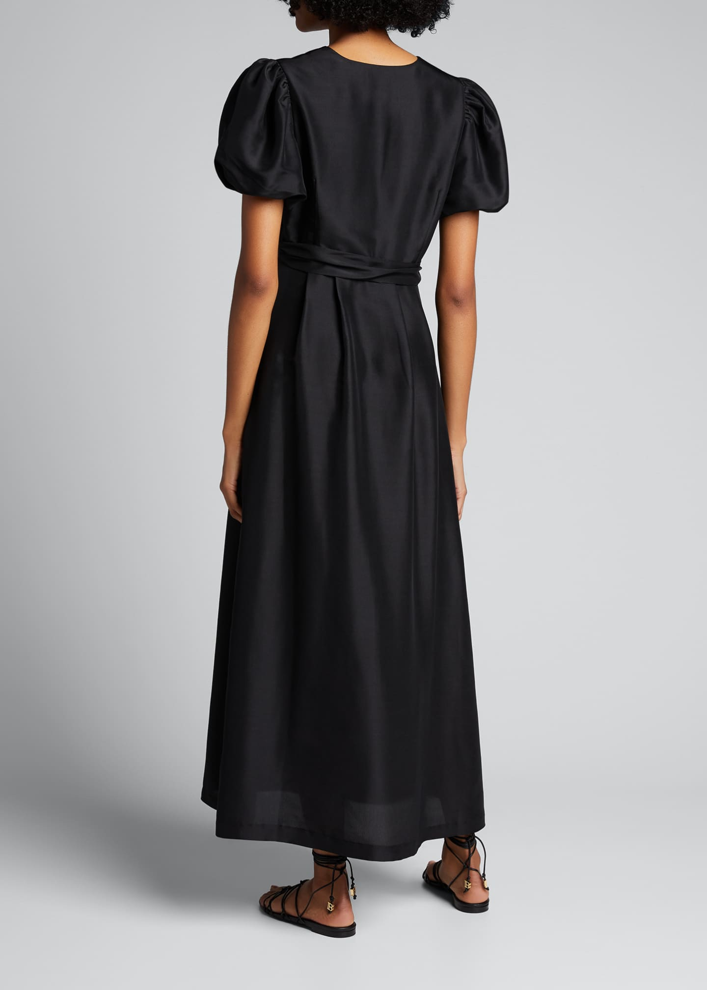Image 2 of 5: Carmen Silk Maxi Gown