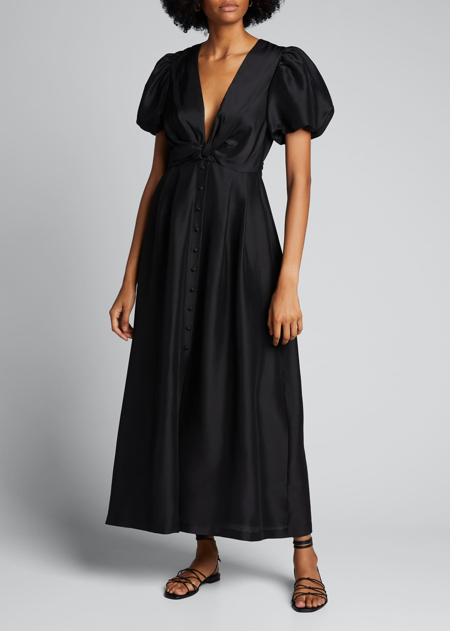Image 1 of 5: Carmen Silk Maxi Gown