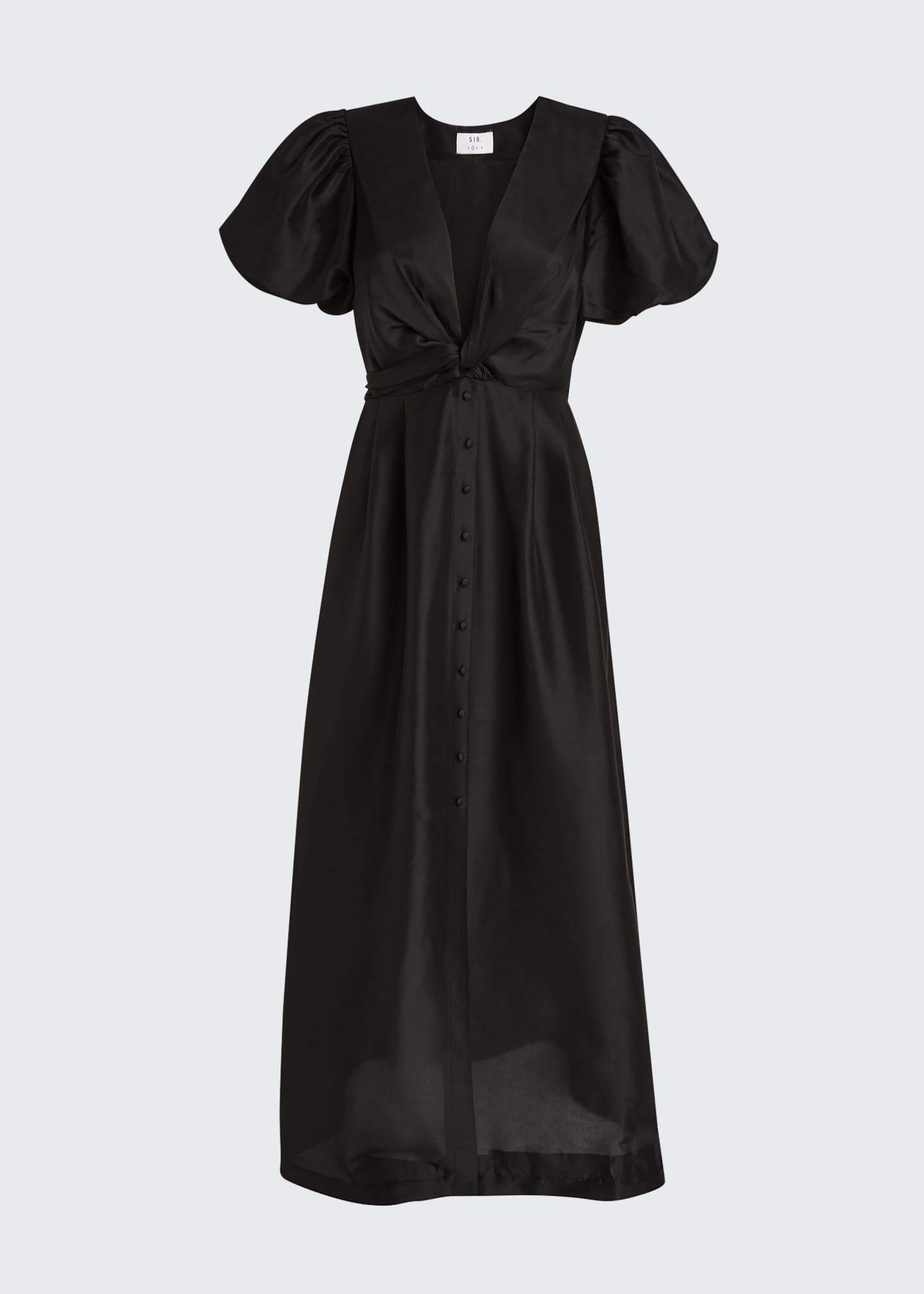 Image 5 of 5: Carmen Silk Maxi Gown