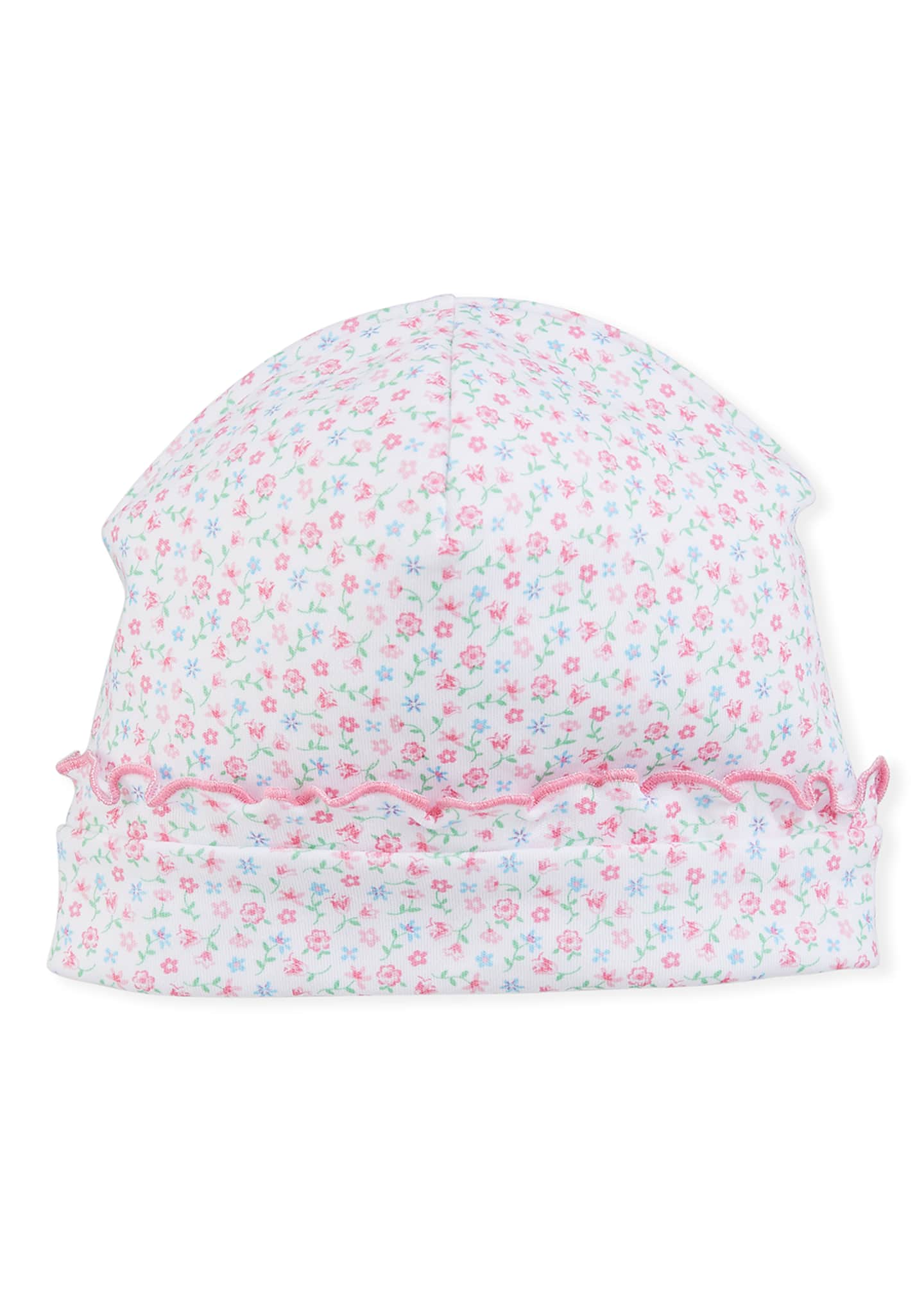 Image 1 of 1: Flowering Flamingos Pima Baby Hat, Size Newborn - Small