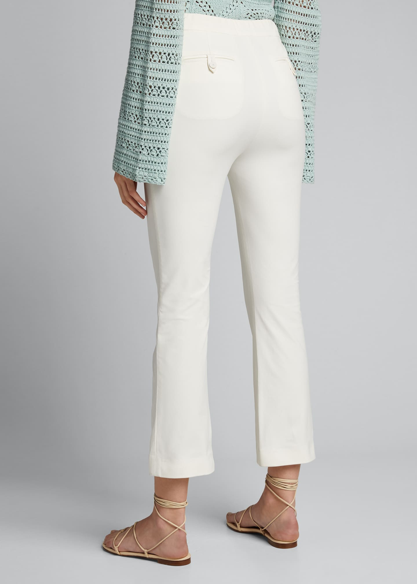 Image 2 of 5: Joanna Tech Stretch Cropped Pants