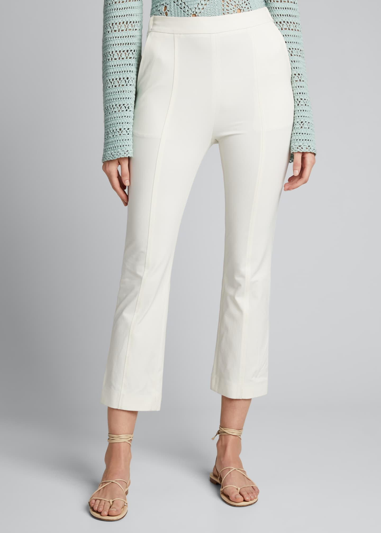 Image 3 of 5: Joanna Tech Stretch Cropped Pants