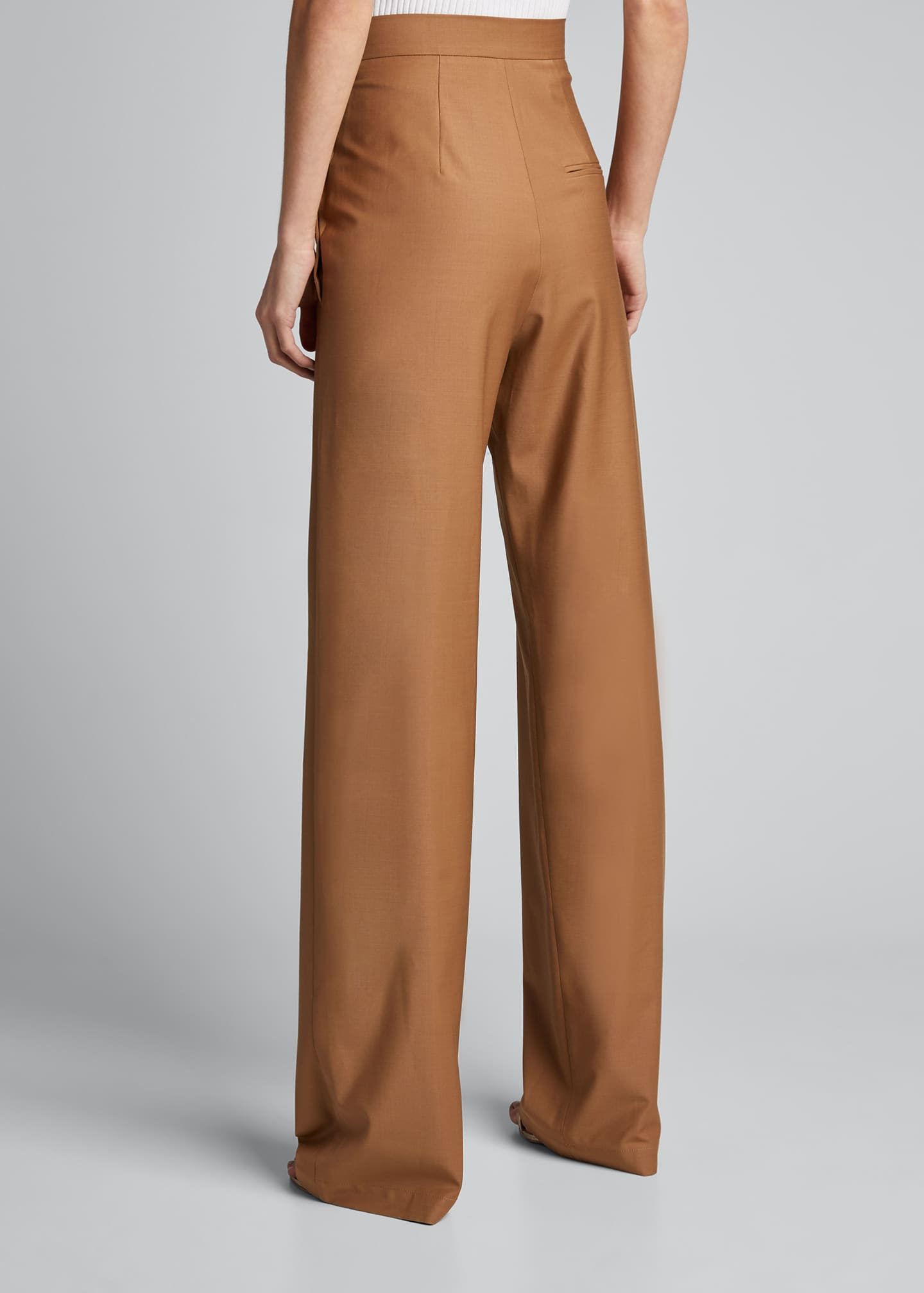 Image 2 of 5: Side-Button Pants