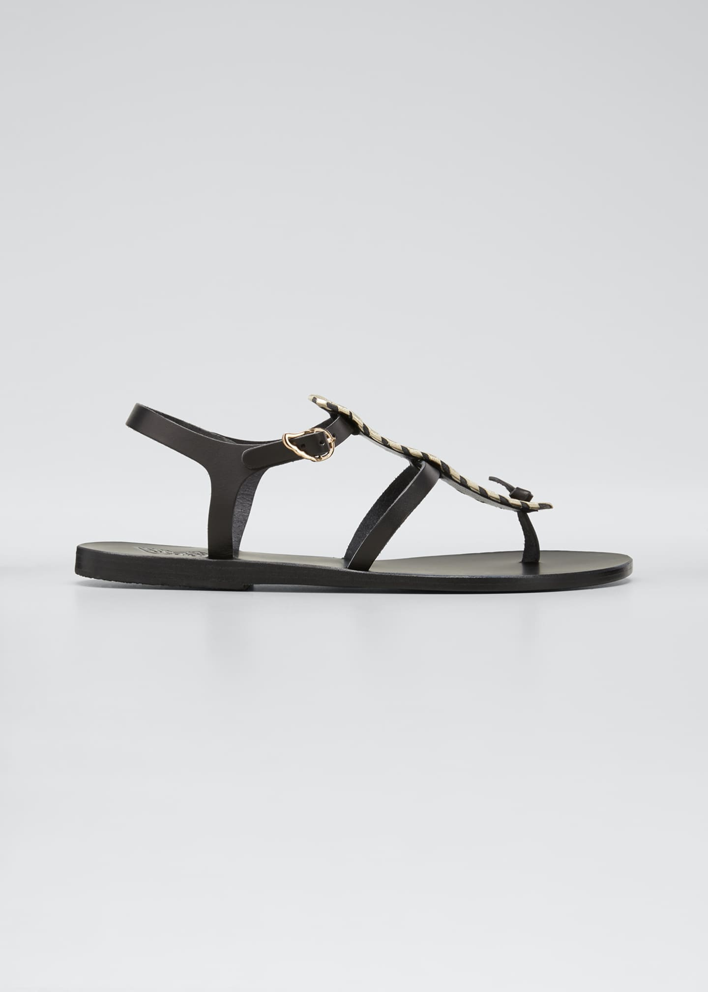 Image 1 of 5: Erianna Flat Thong Sandals