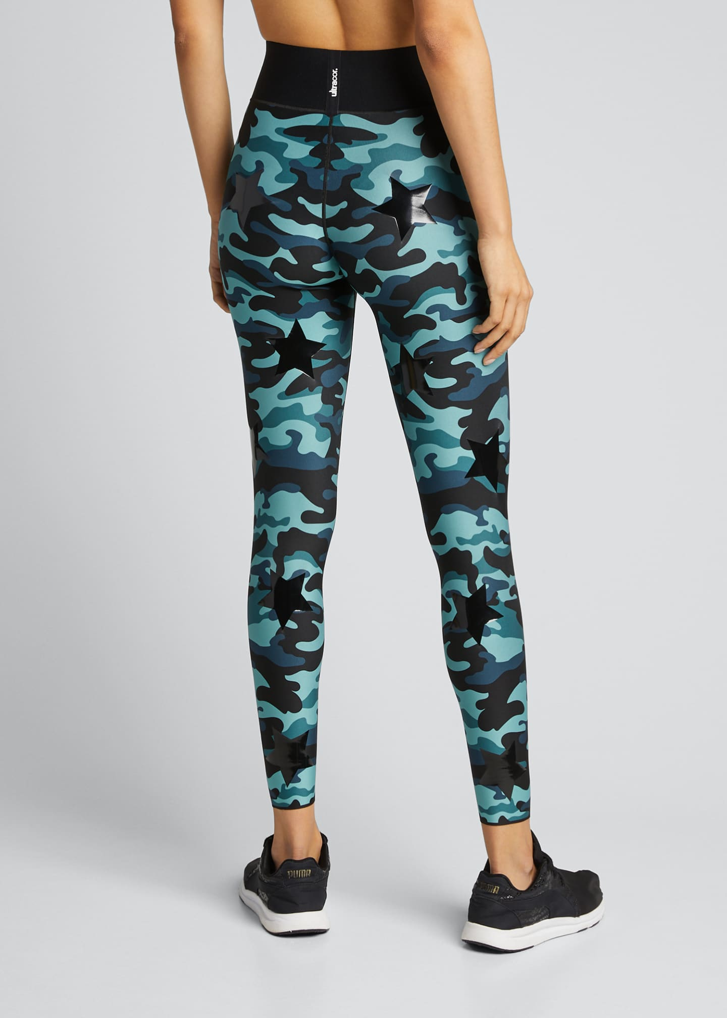 Image 2 of 5: Knockout Camo Ultra High-Waist Leggings