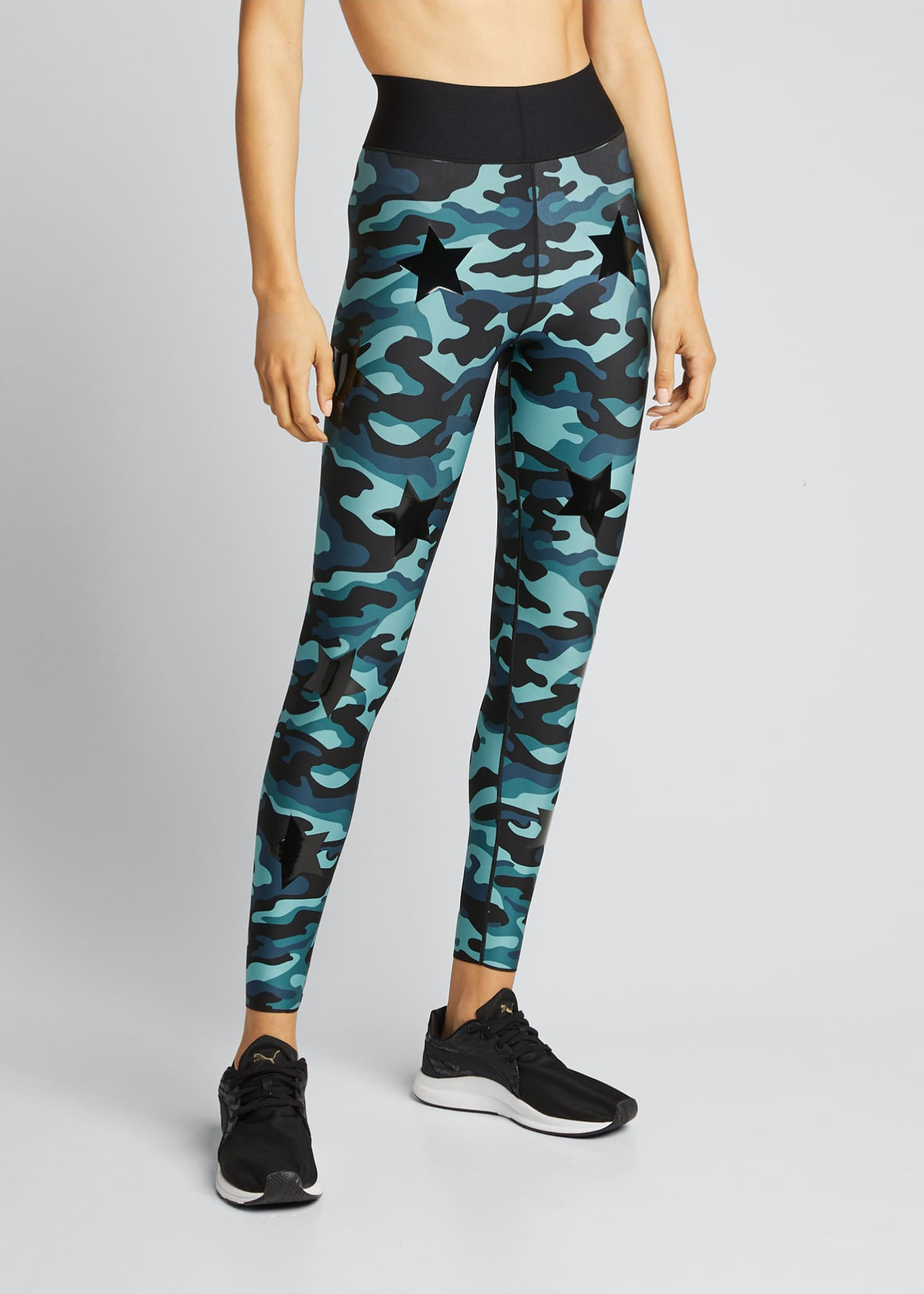 Image 3 of 5: Knockout Camo Ultra High-Waist Leggings