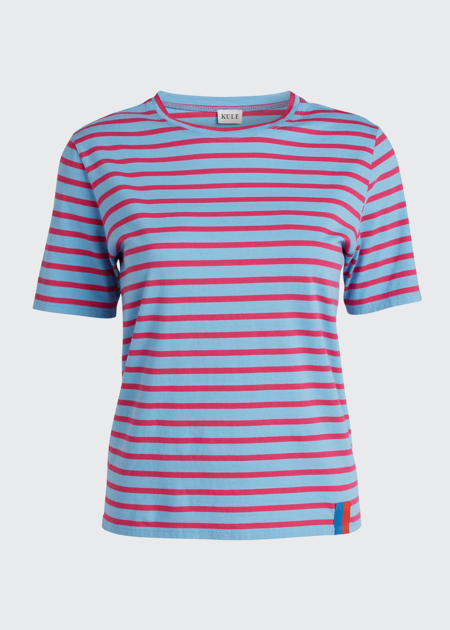 Image 5 of 5: The Modern Short-Sleeve Striped Top