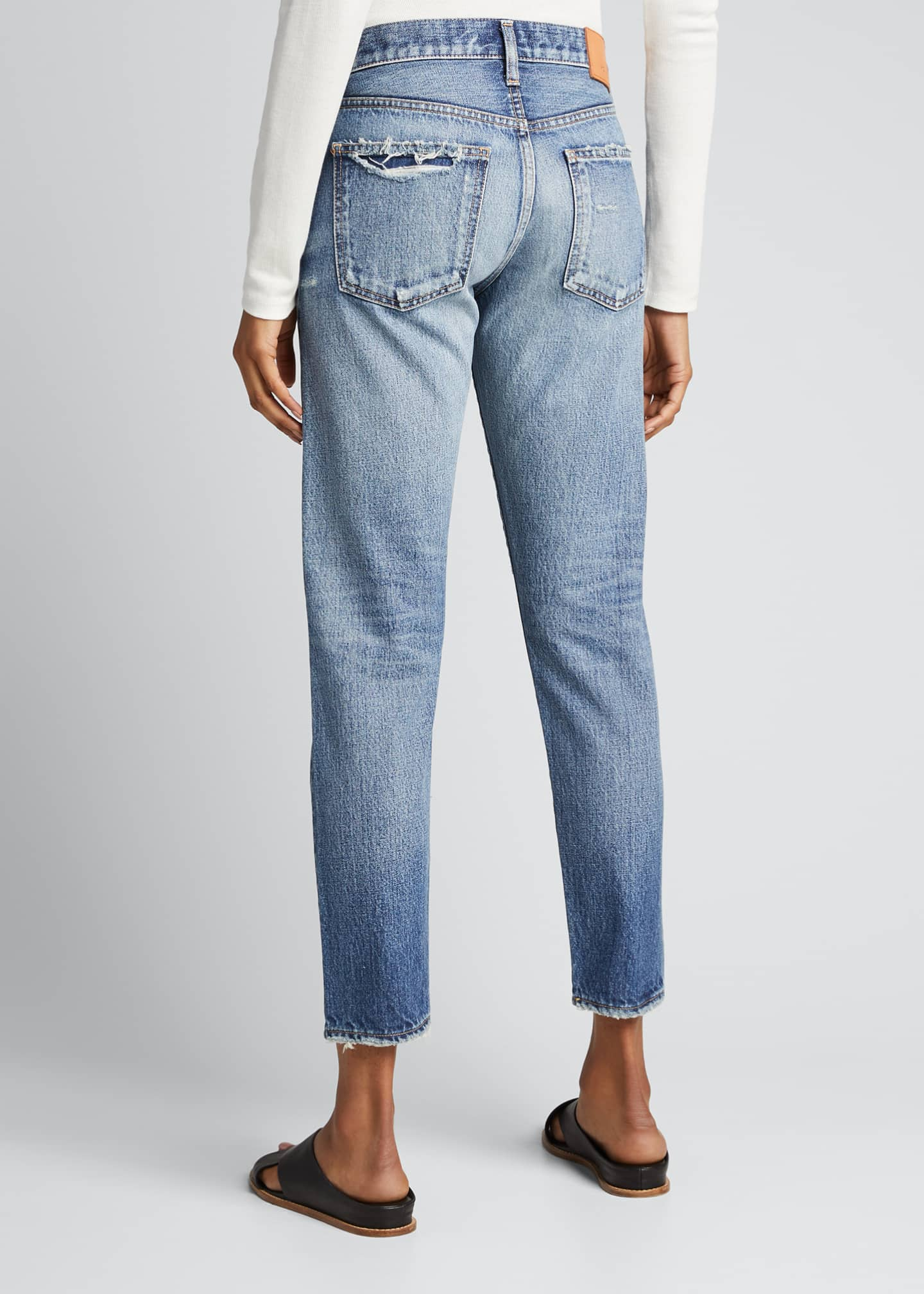 Image 2 of 5: Vienna Tapered Mid-Rise Jeans