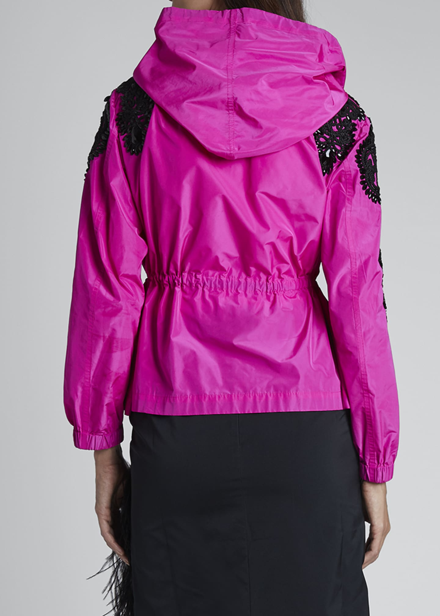Image 2 of 3: Embellished Zip-Front Jacket