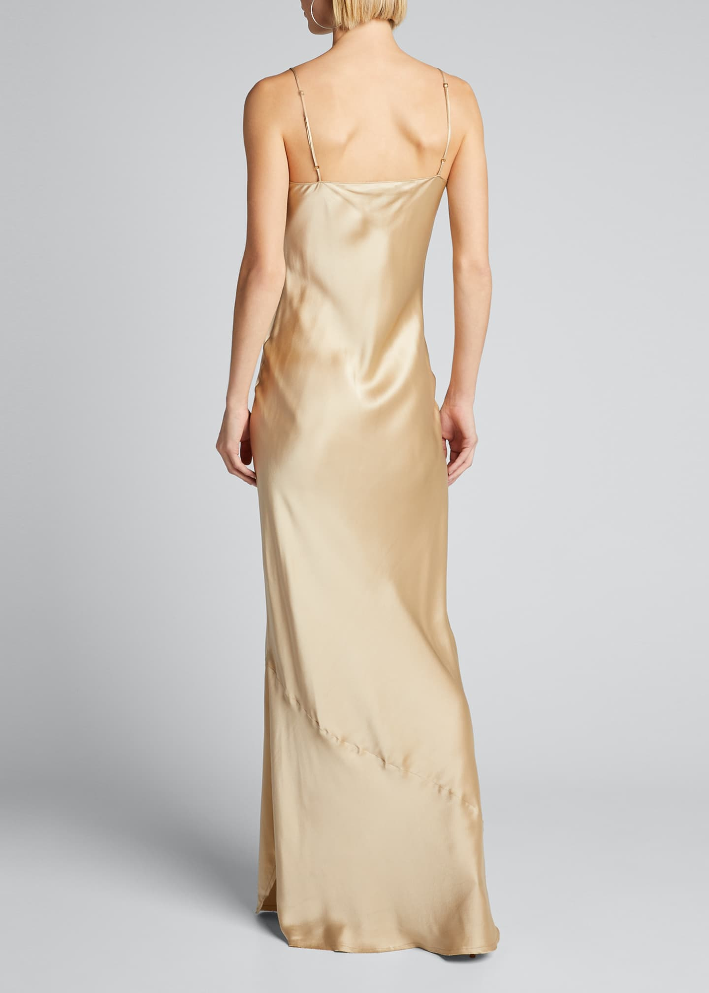 Image 2 of 5: Cami Silk Bias-Cut Gown