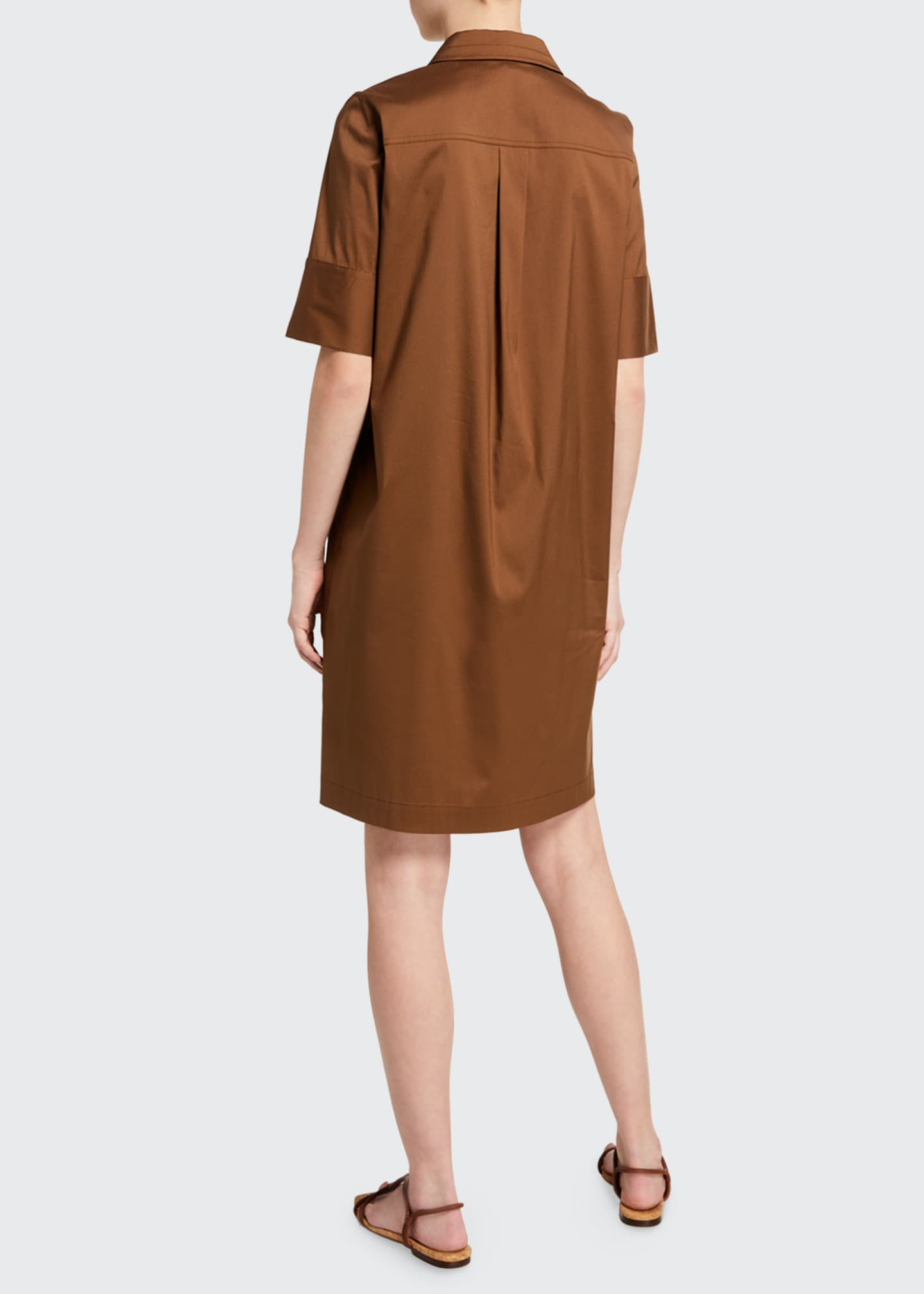 Image 2 of 3: Conroy Classic Stretch Cotton Dress