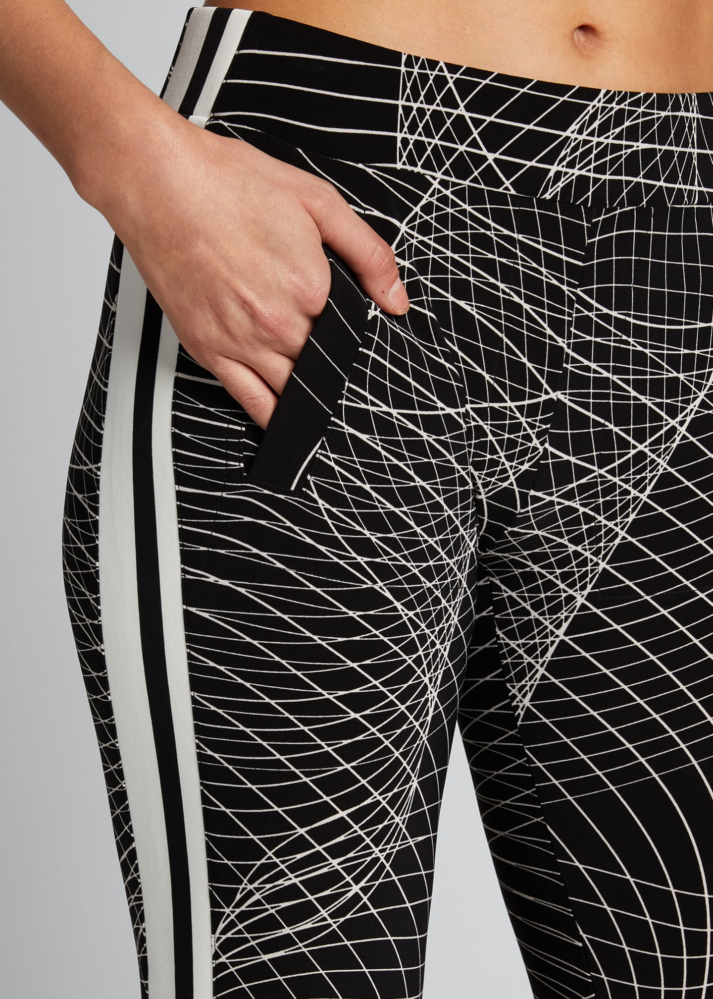 Image 4 of 5: Side-Stripe Jogger Pants