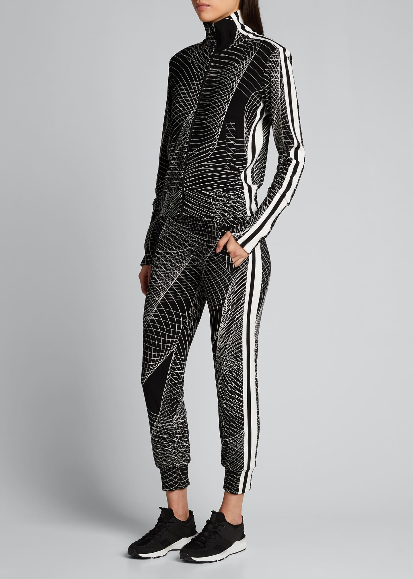 Image 1 of 5: Side-Stripe Jogger Pants