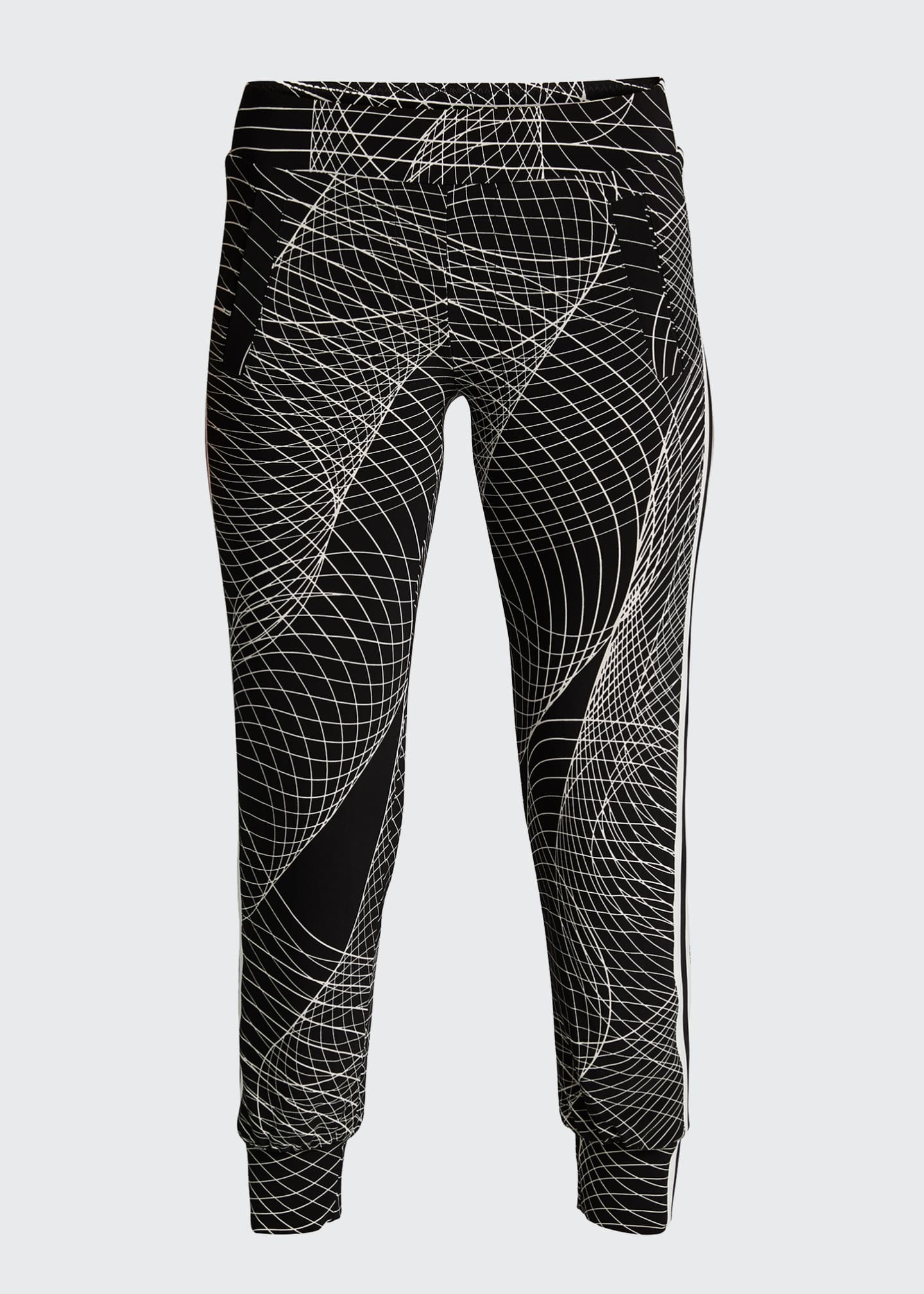 Image 5 of 5: Side-Stripe Jogger Pants