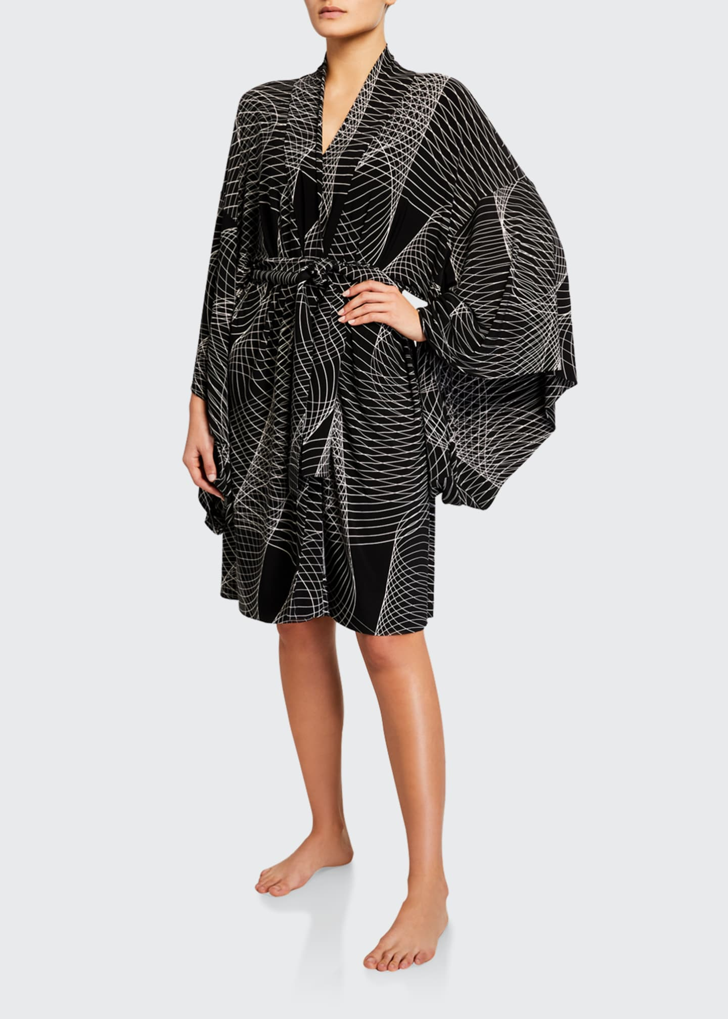 Image 2 of 3: Printed Coverup Robe