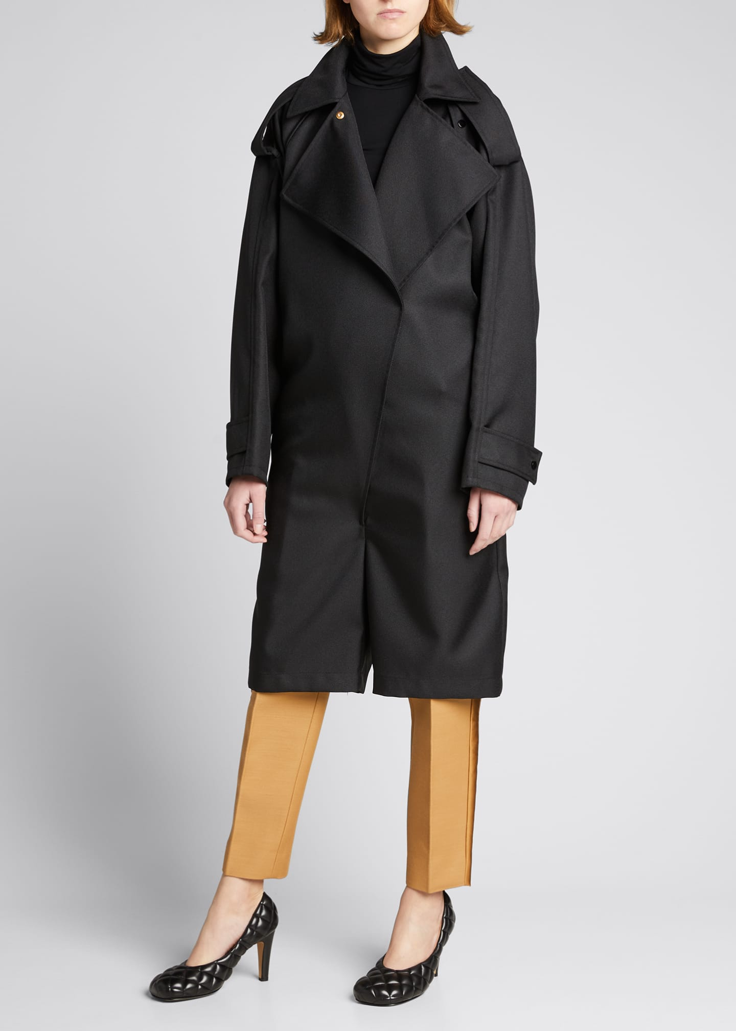 Image 1 of 4: Trench Short Jumpsuit