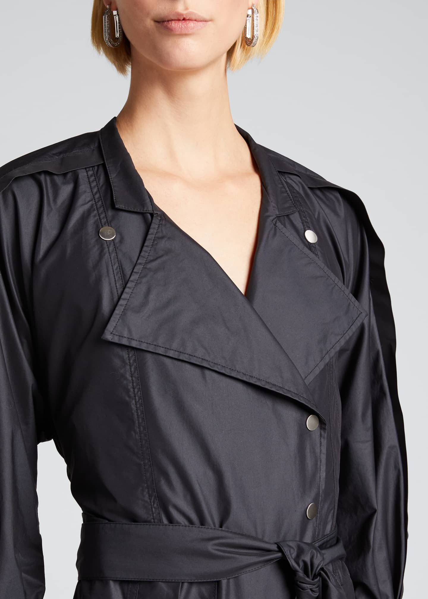 Image 4 of 5: Long-Sleeve Utility Jumpsuit