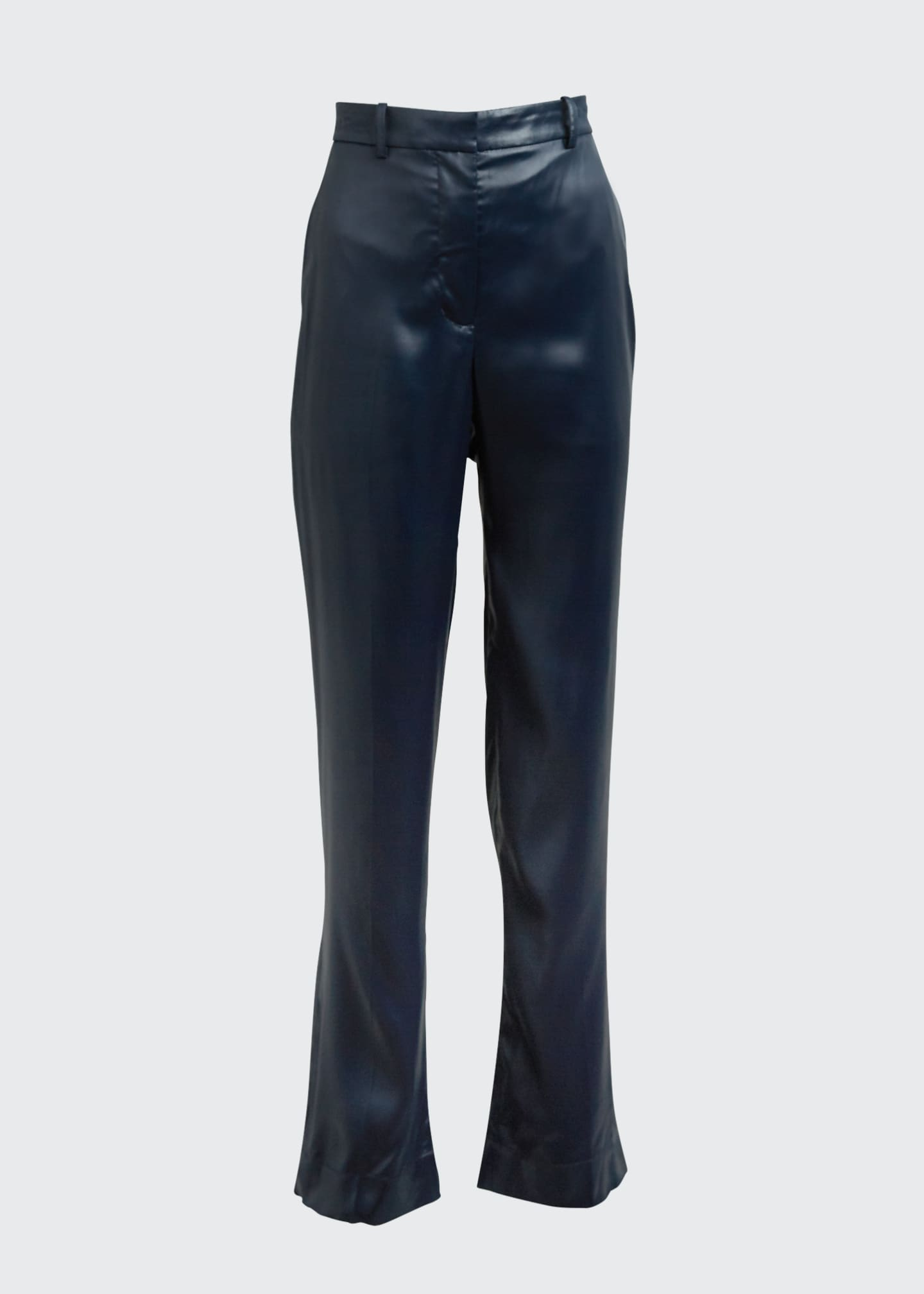 Image 5 of 5: Sleek Full-Leg Trousers
