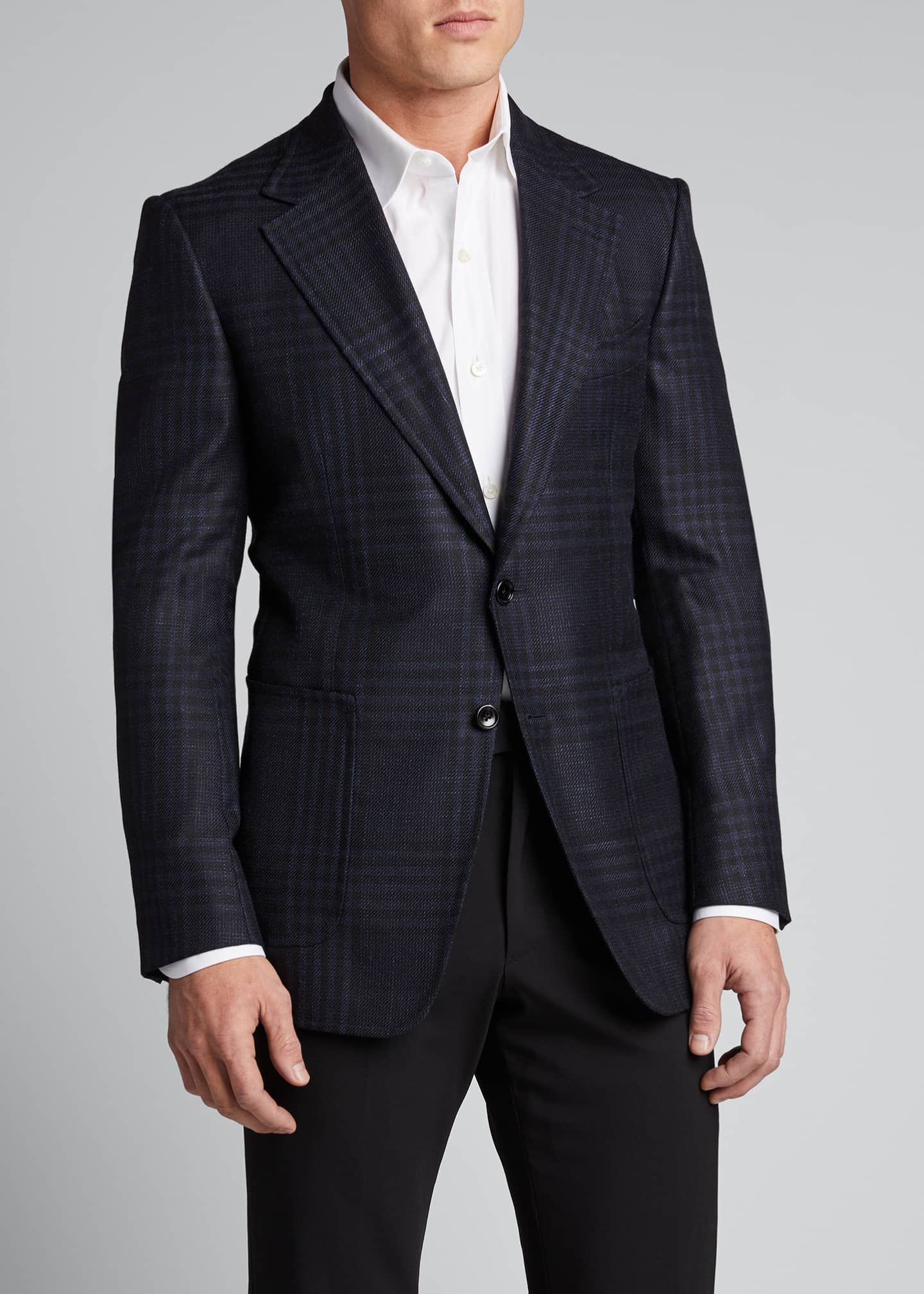 Image 3 of 4: Men's Shelton Grand Check Sport Jacket