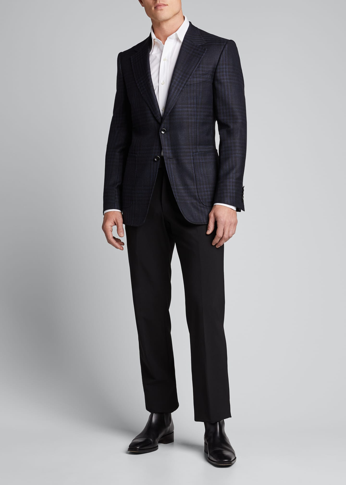 Image 1 of 4: Men's Shelton Grand Check Sport Jacket