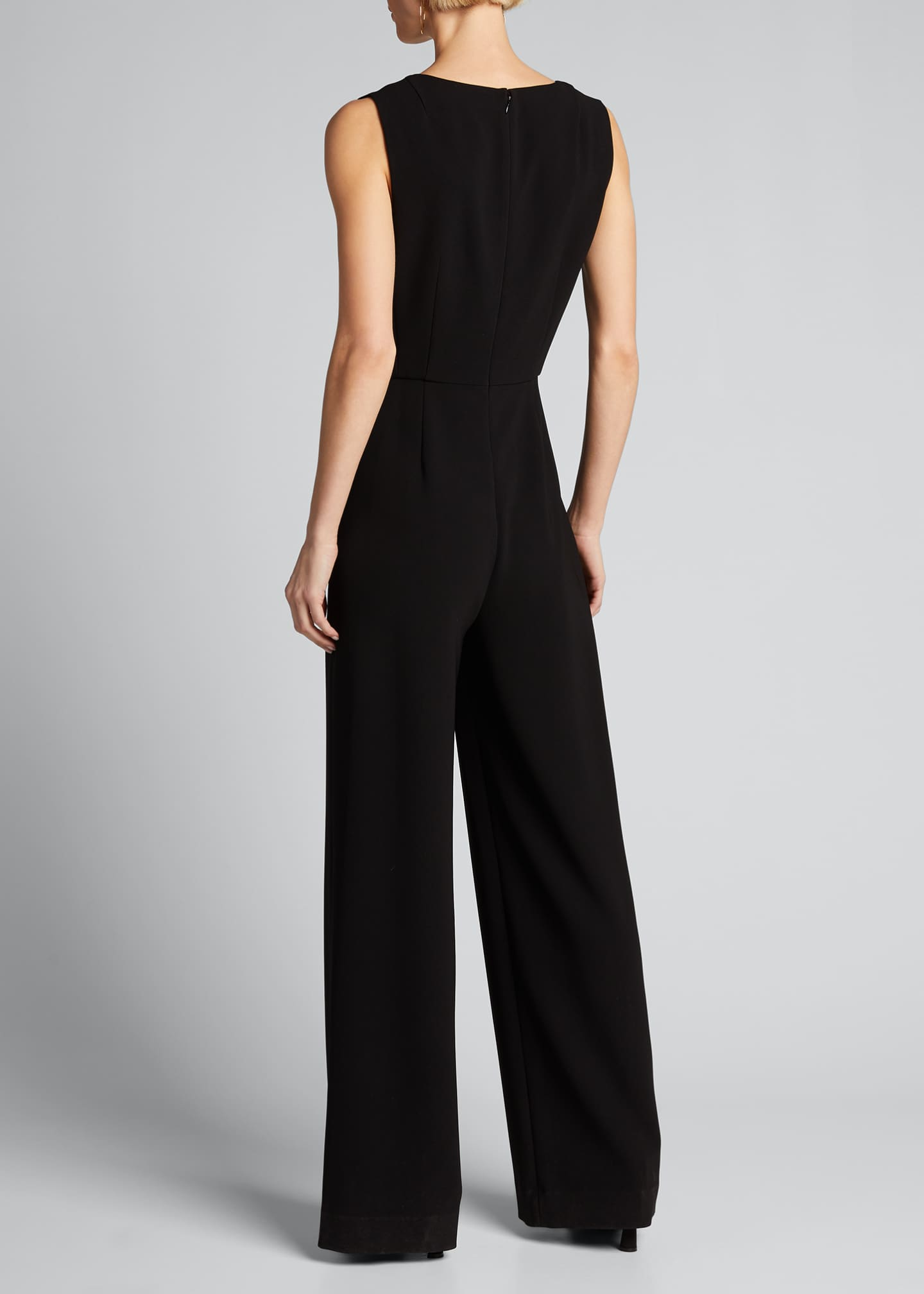 Image 2 of 5: Seamed Scoop-Neck Jumpsuit