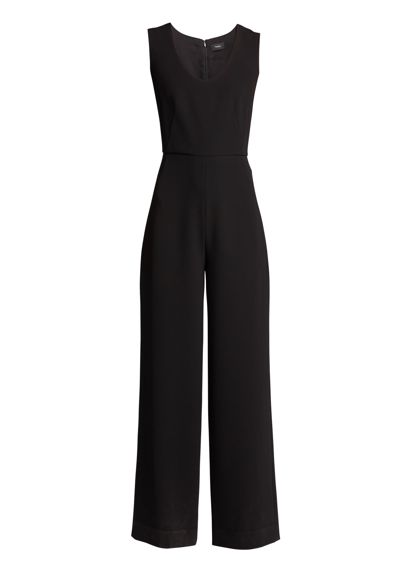 Image 5 of 5: Seamed Scoop-Neck Jumpsuit