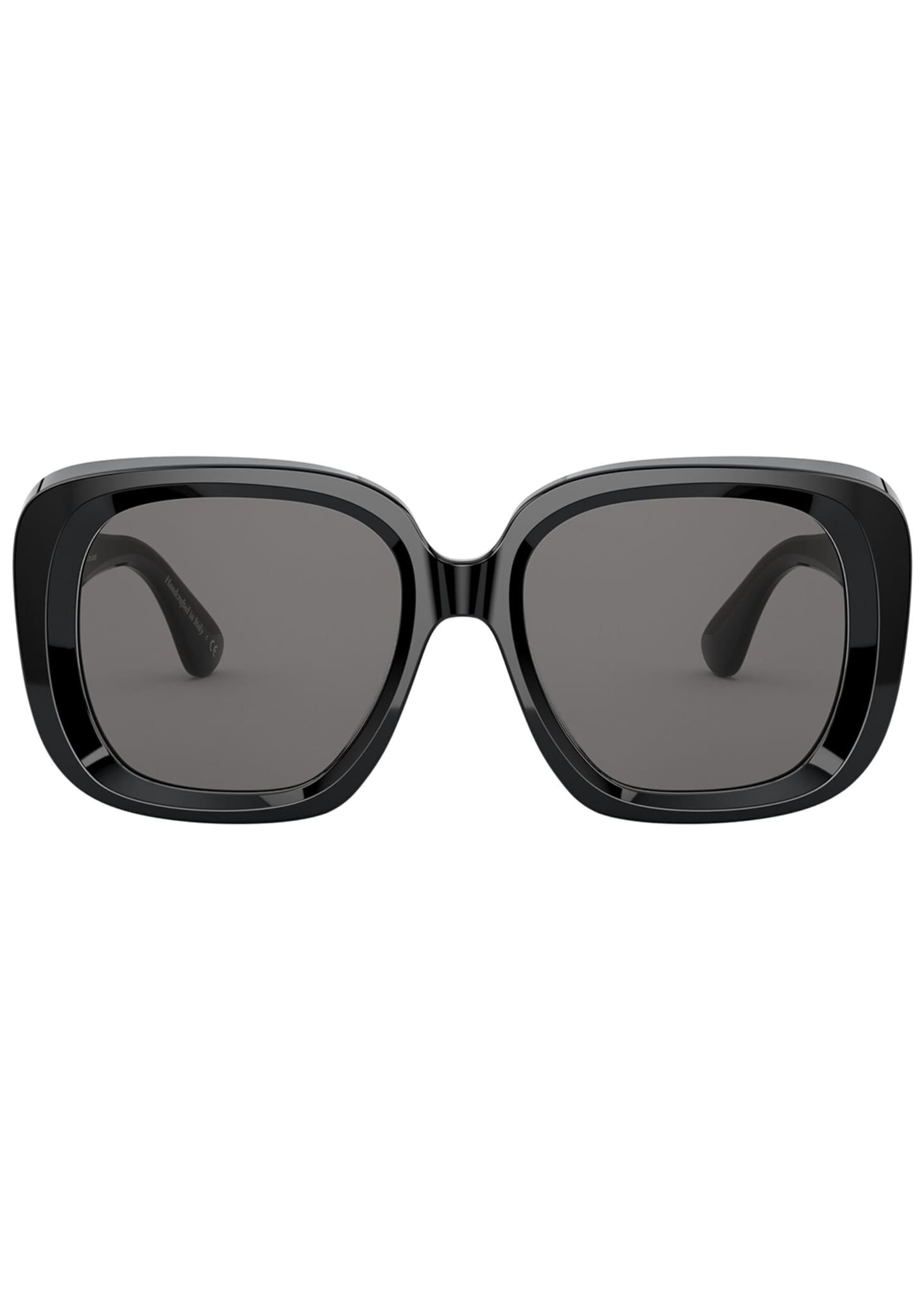 Image 2 of 2: Nella Square Acetate Sunglasses