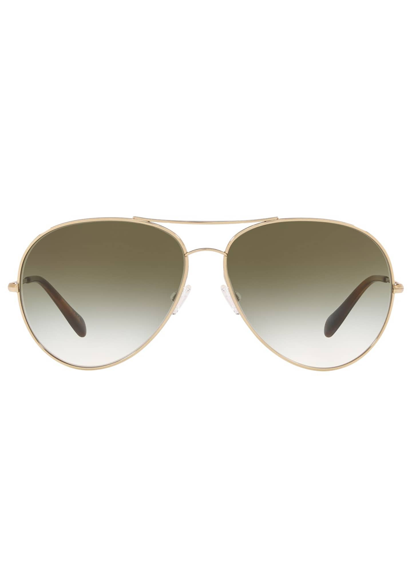 Image 2 of 2: Sayer Metal Aviator Sunglasses
