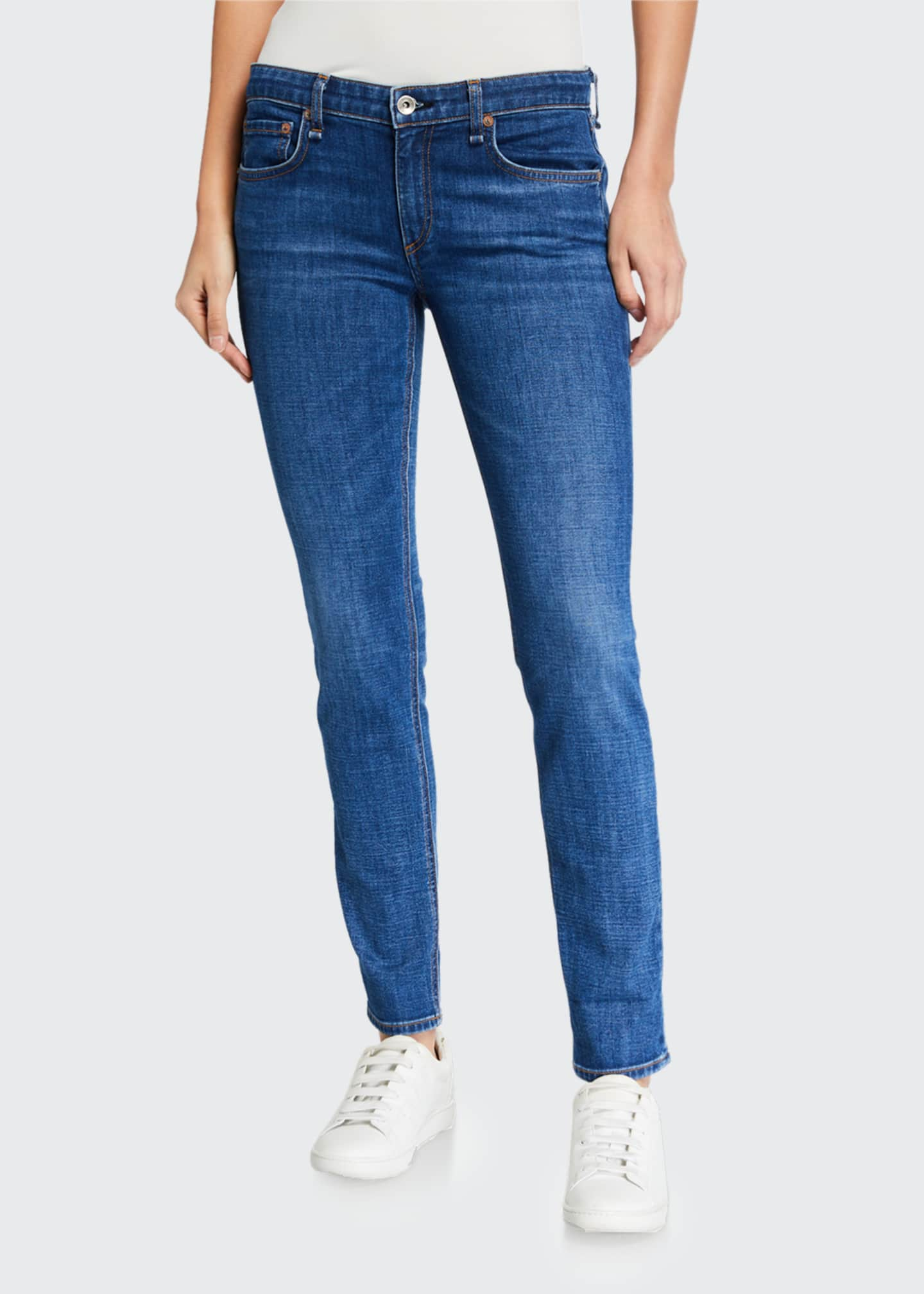 Image 3 of 3: Dre Low-Rise Slim Boyfriend Jeans
