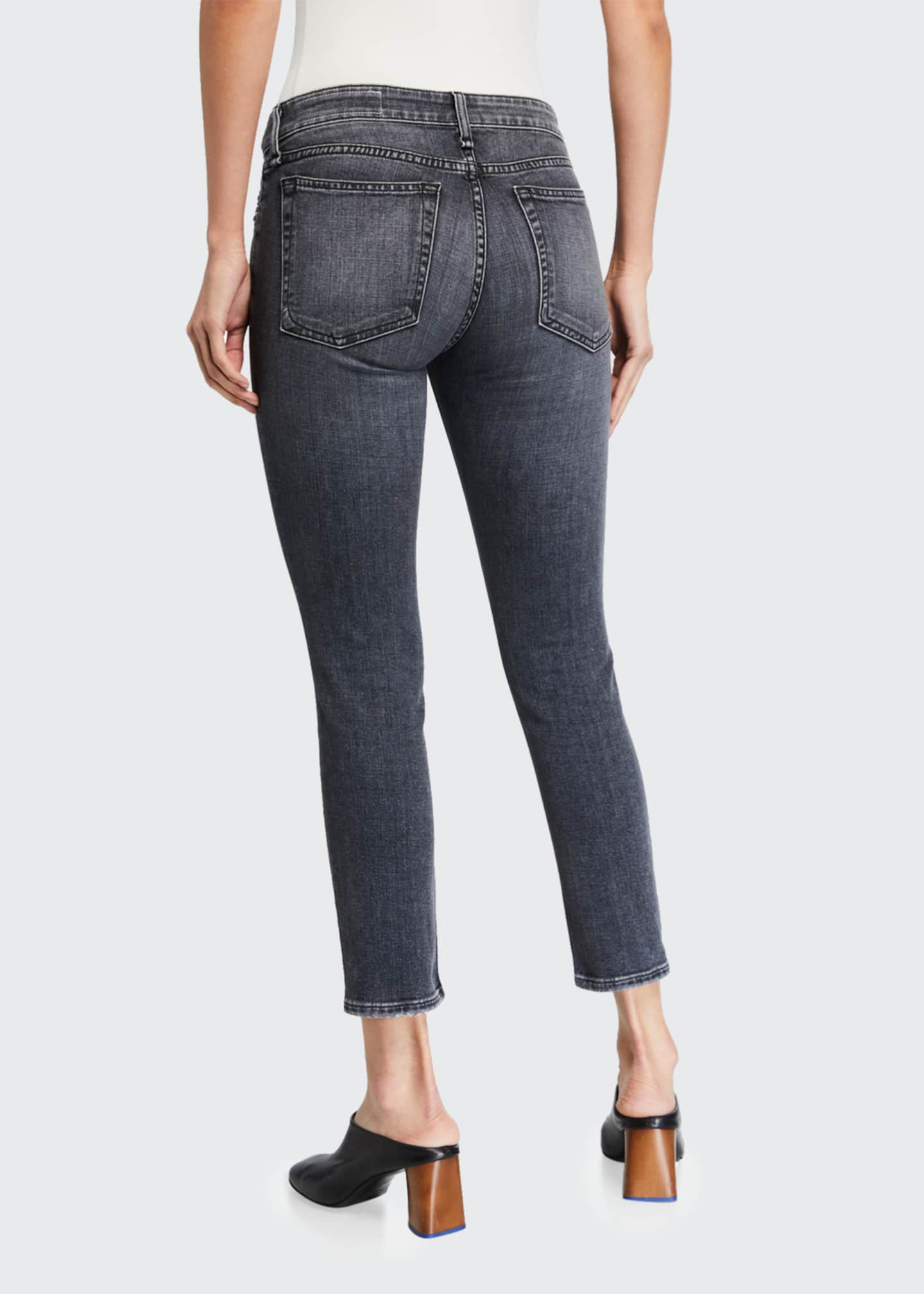 Image 2 of 3: Dre Low-Rise Slim Boyfriend Jeans