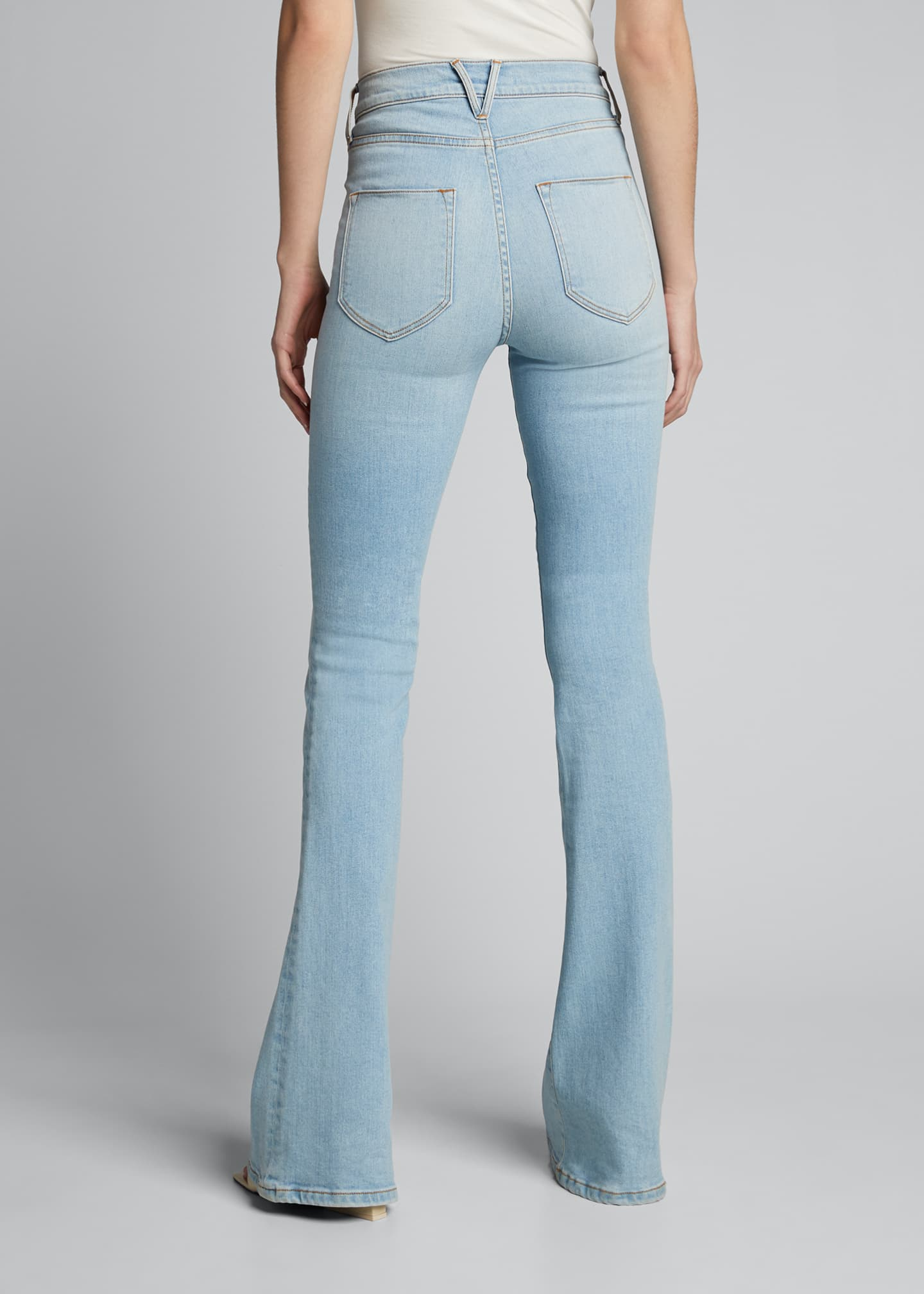Image 2 of 5: Florence High-Rise Flare Jeans