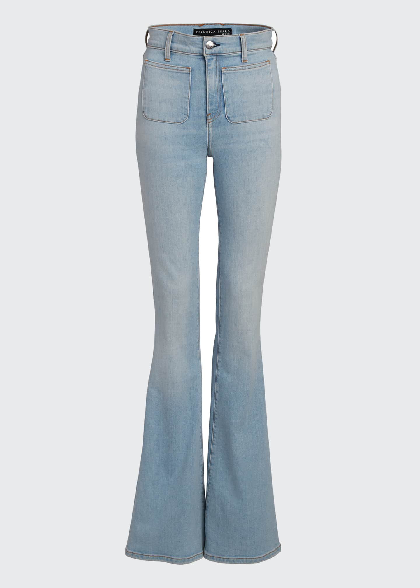 Image 5 of 5: Florence High-Rise Flare Jeans