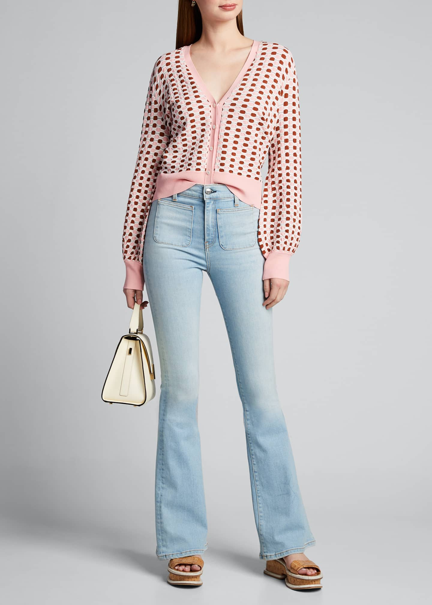 Image 1 of 5: Florence High-Rise Flare Jeans