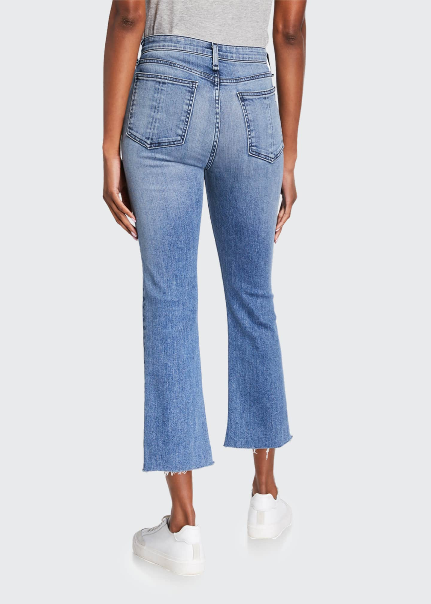 Image 2 of 3: Nina High-Rise Ankle Flare Jeans