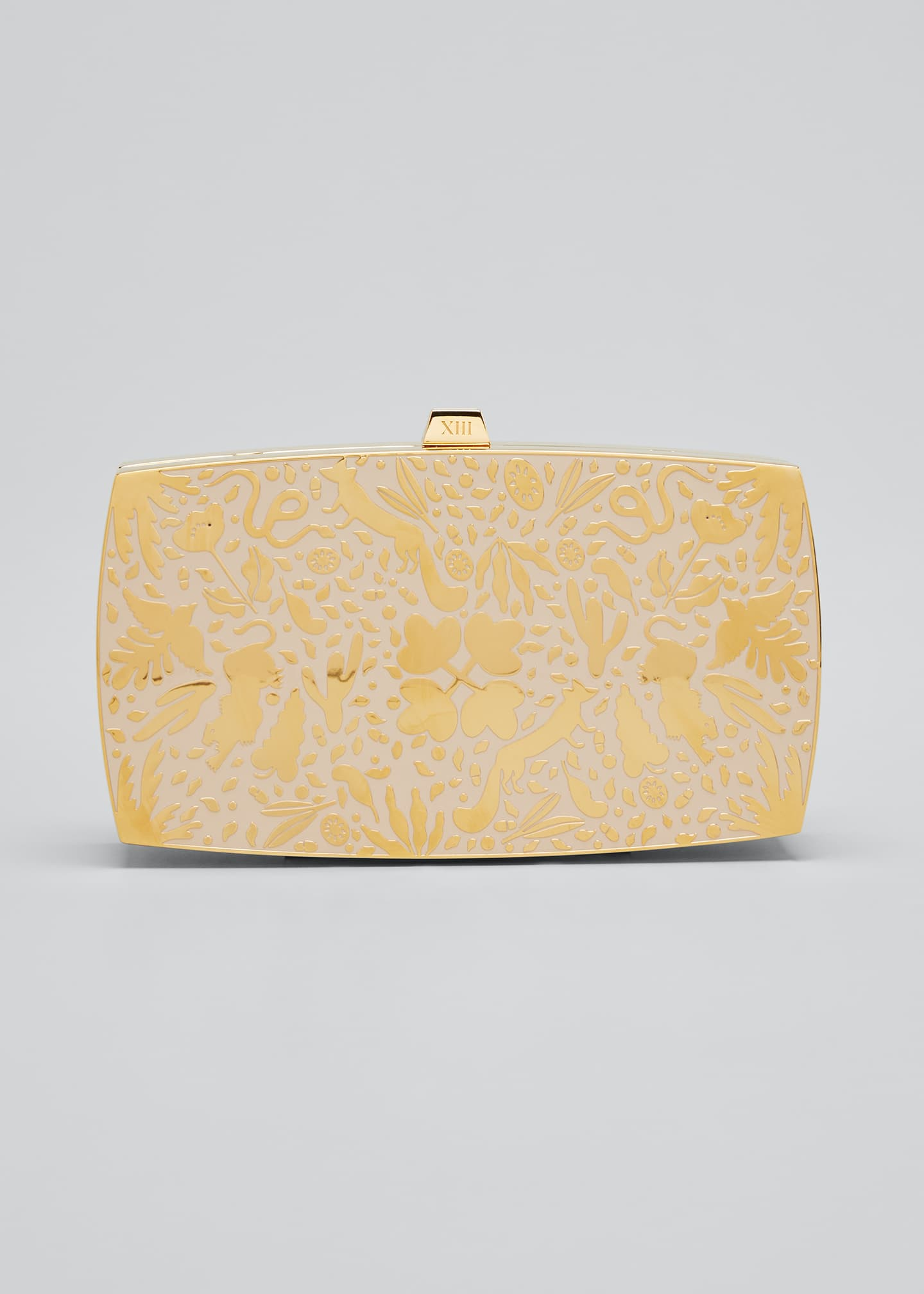 Image 1 of 5: The Wilderness Minaudiere Clutch Bag